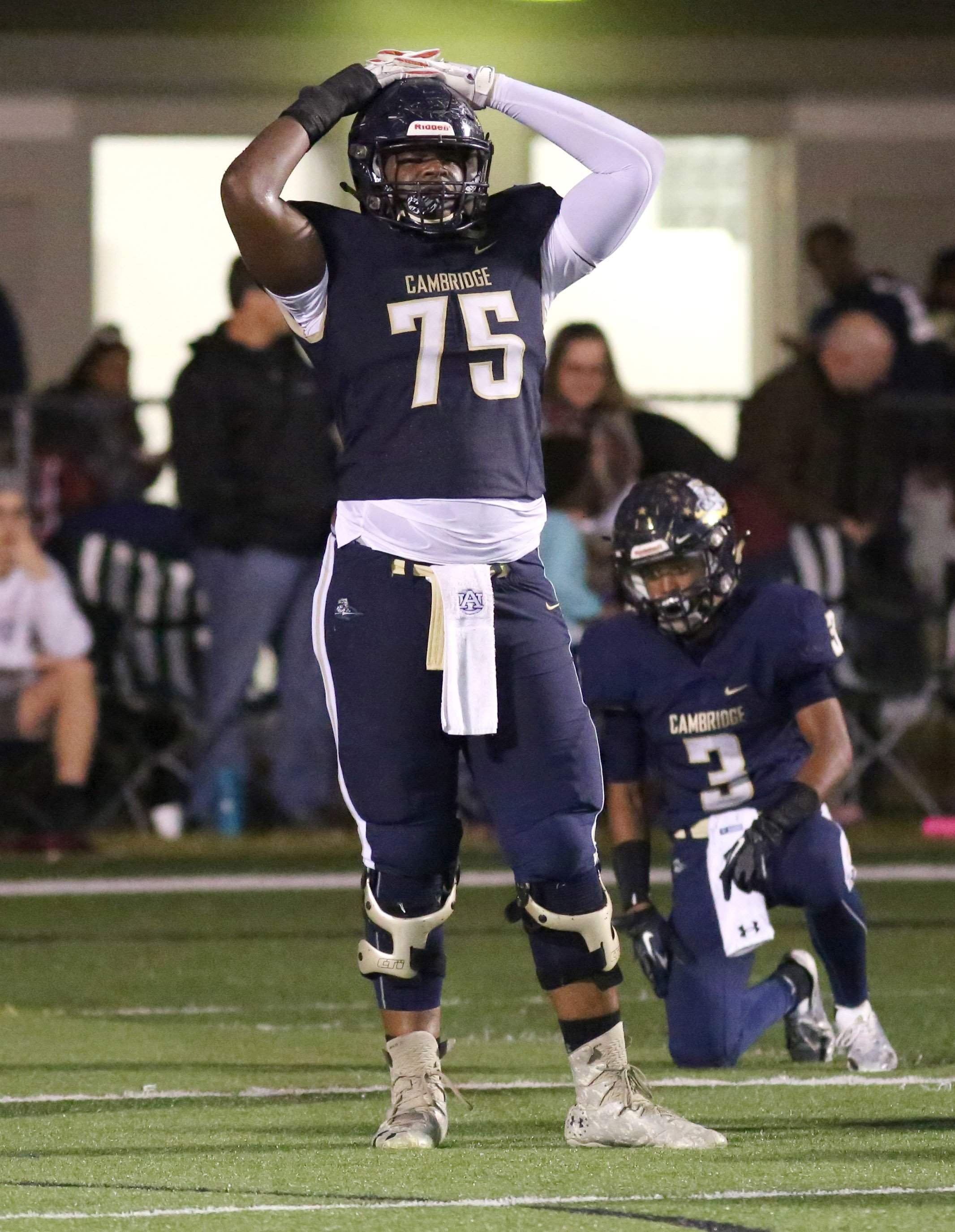 online store 2db38 3f236 Cambridge Christian's Richard Gouraige soaks up Under Armour ...