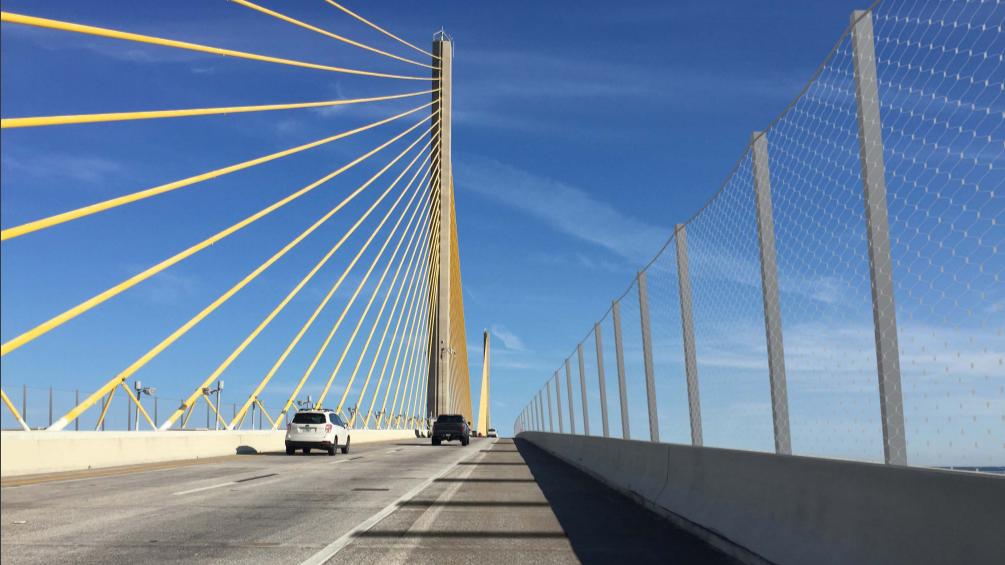 Sunshine Skyway Bridge To Get Suicide Prevention Barrier
