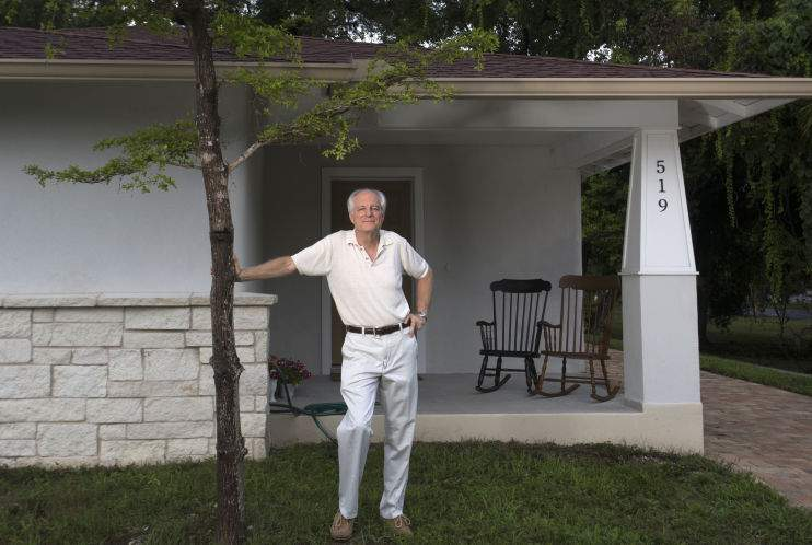 Hemp helps build a house in Tarpon Springs, likely first in