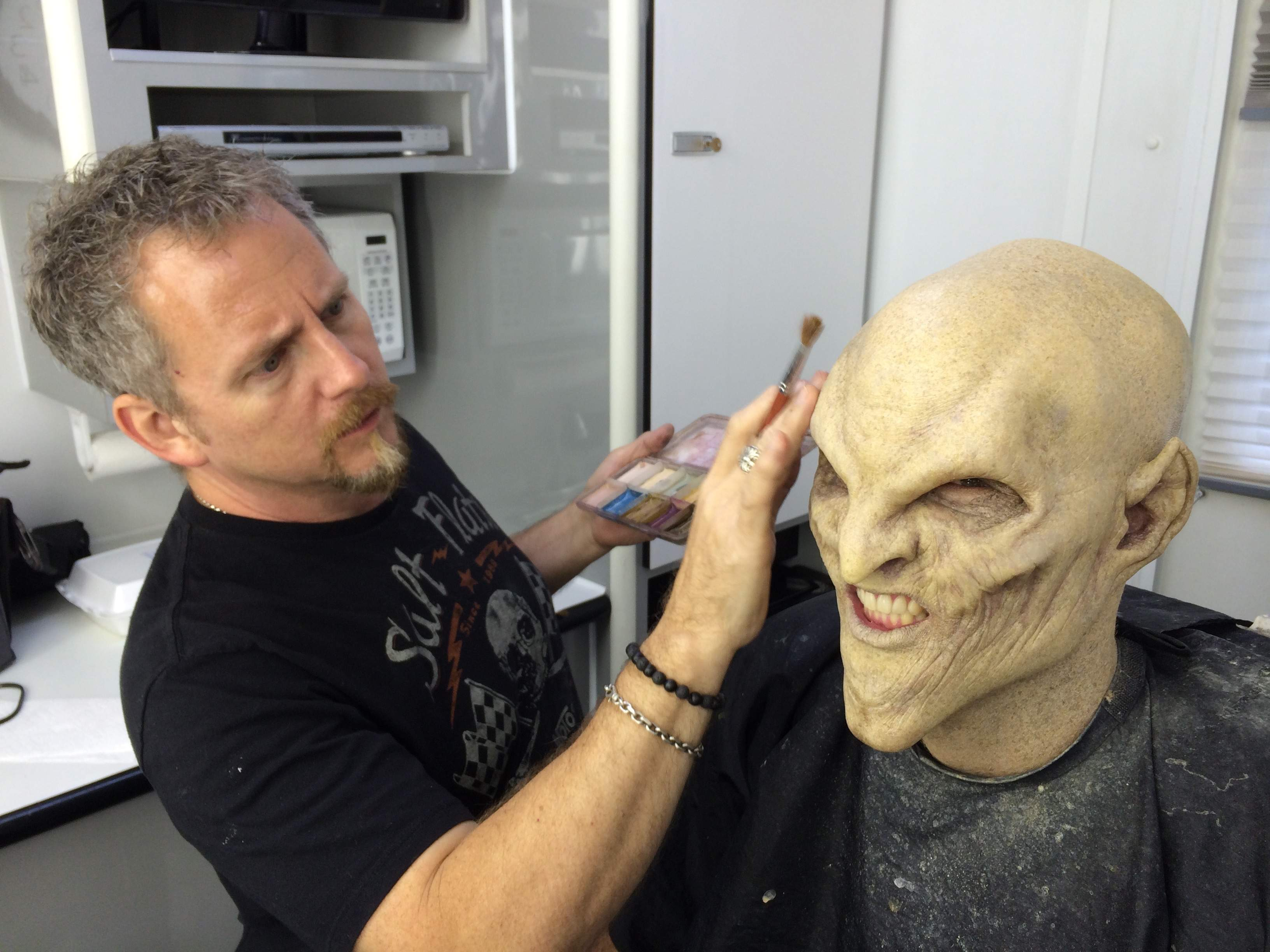 Corey Castellano, one of Hollywood's top makeup effects