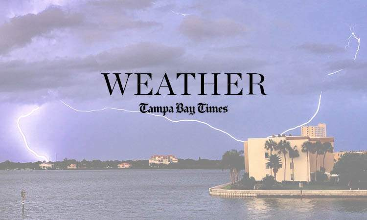 Forecast: Sunny and dry conditions continue in Tampa Bay