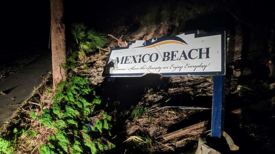 Hurricane leaves Florida's Mexico Beach in shreds