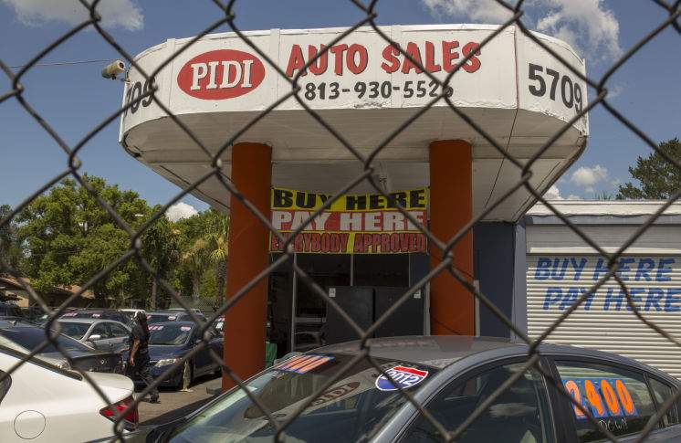 Buy Here Pay Here Tampa >> High Interest Rates Quick Repossessions Dog Auto Buyers