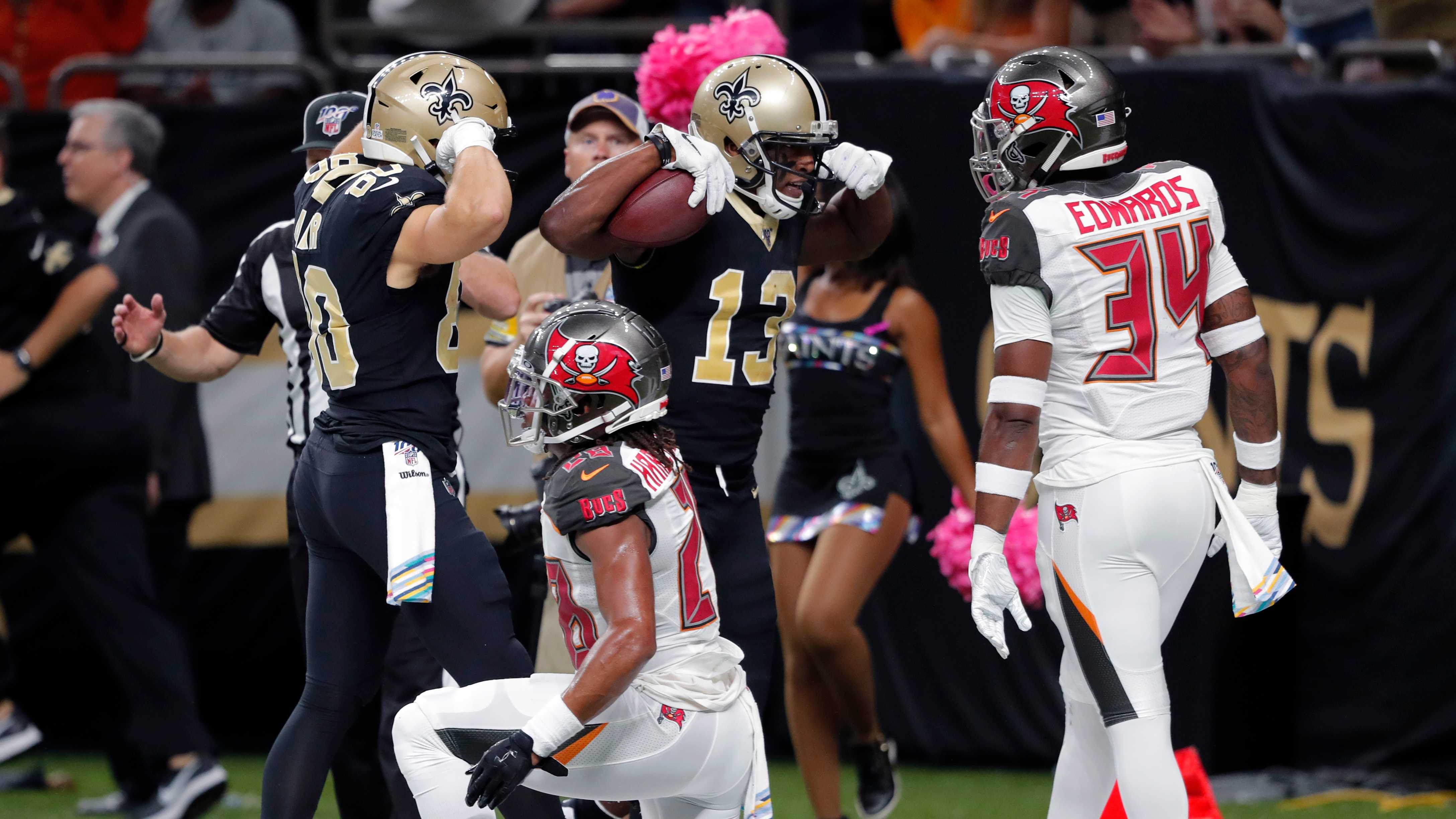 The Saints Did To Mike Evans What The Bucs Couldn T To Michael Thomas