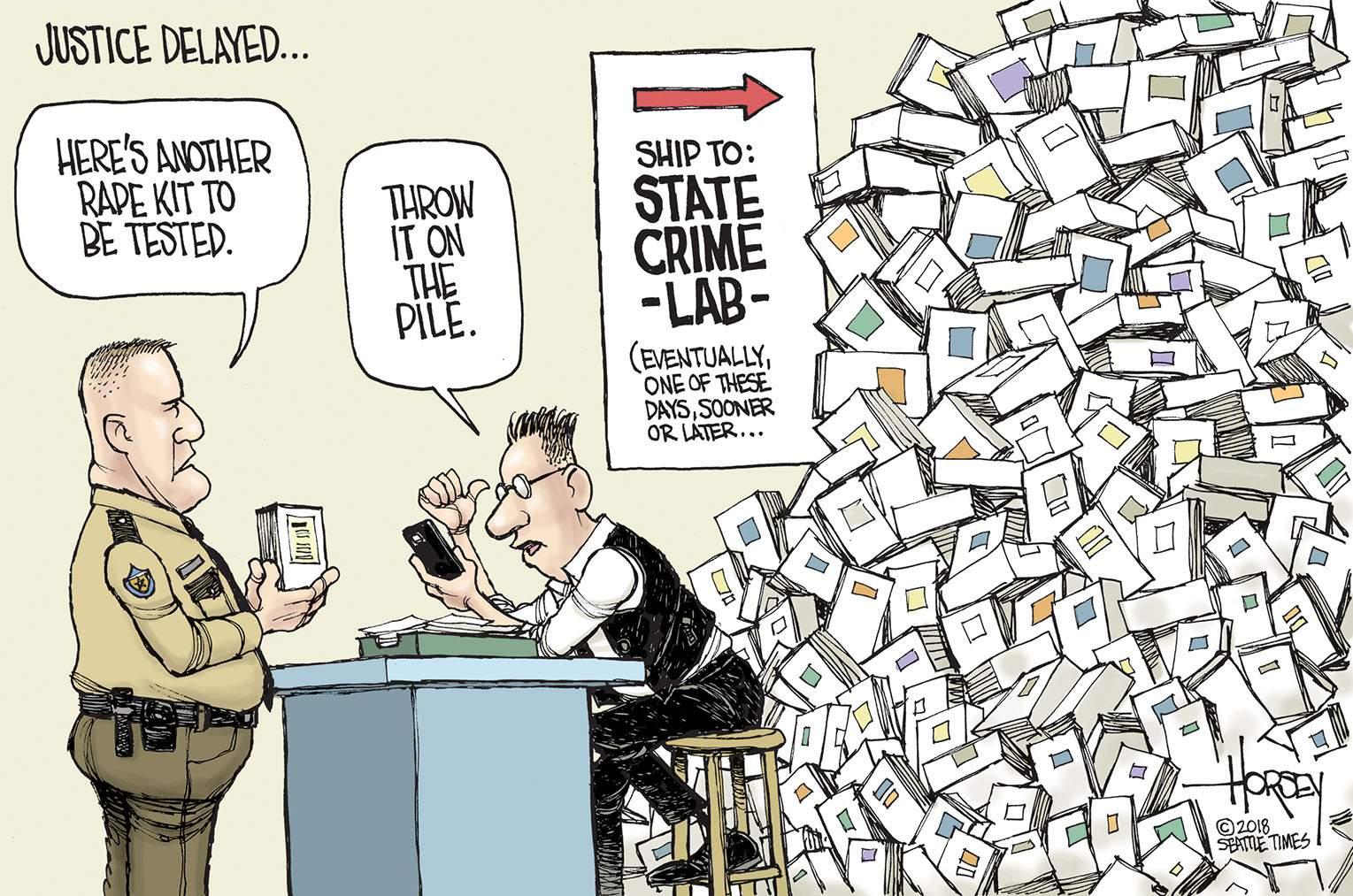 Editorial cartoons for Oct  13-14-15