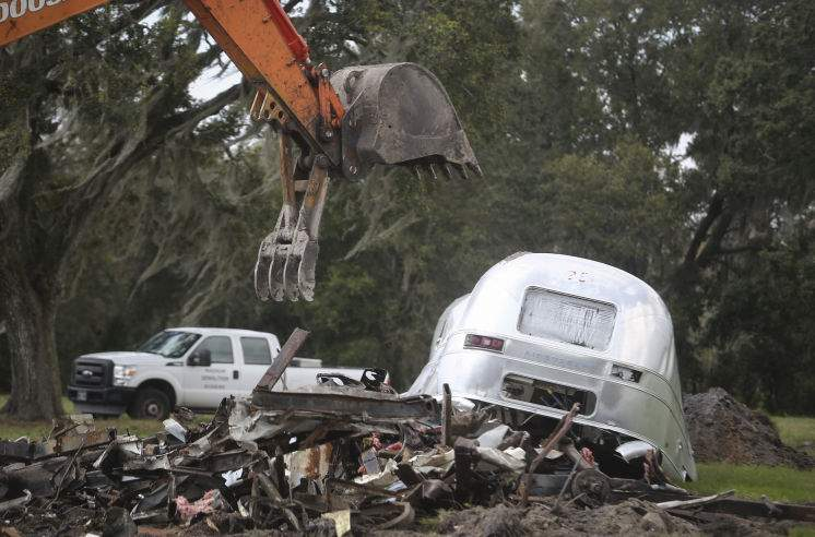 Iconic 'Airstream Ranch' display demolished to make room for