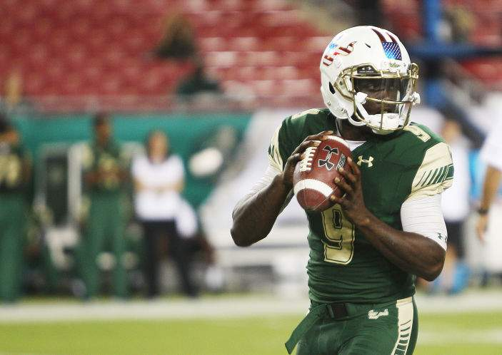 Vipers draft USF great Quinton Flowers in fifth round