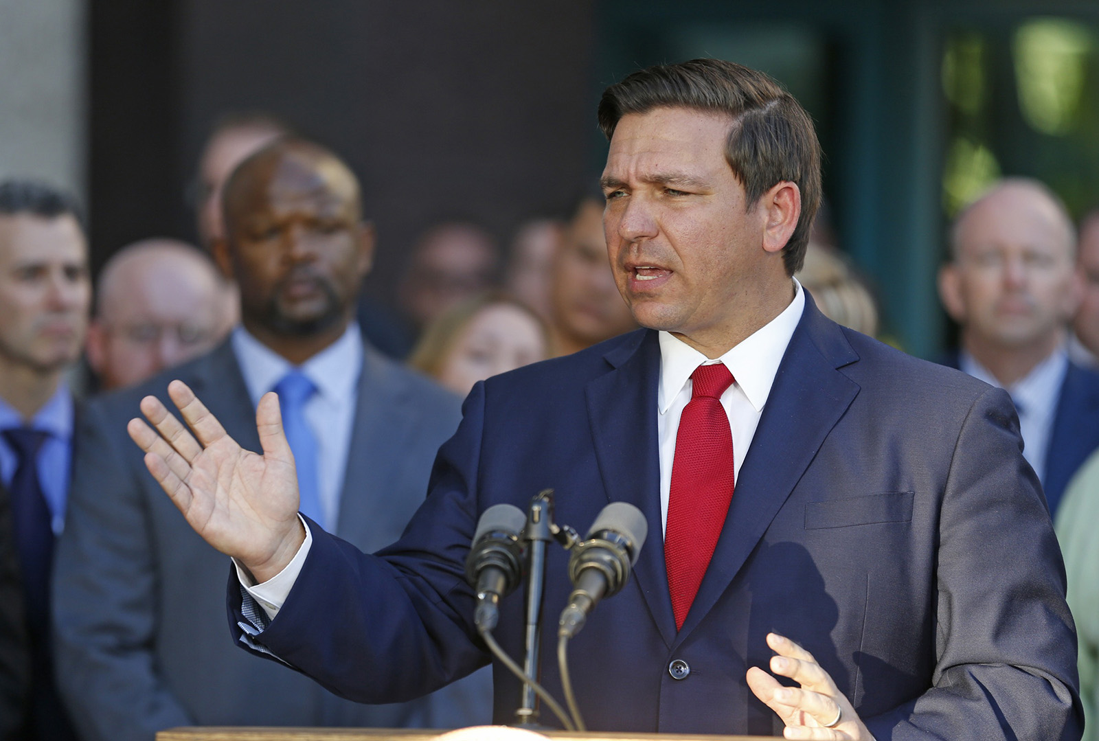 Florida Governor Is Signing K 12 Public >> How Green Is Ron Desantis On Climate Change We Ask Because