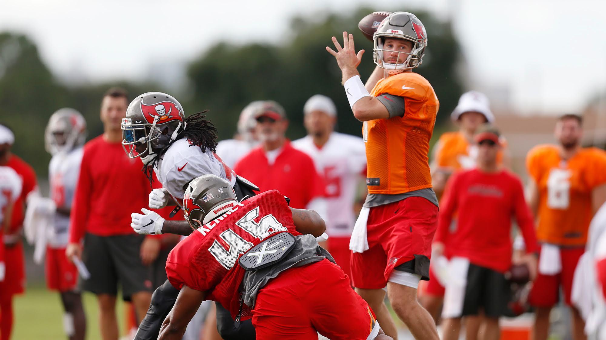 'Noteworthy' Ryan Griffin is the NFL's best preseason quarterback