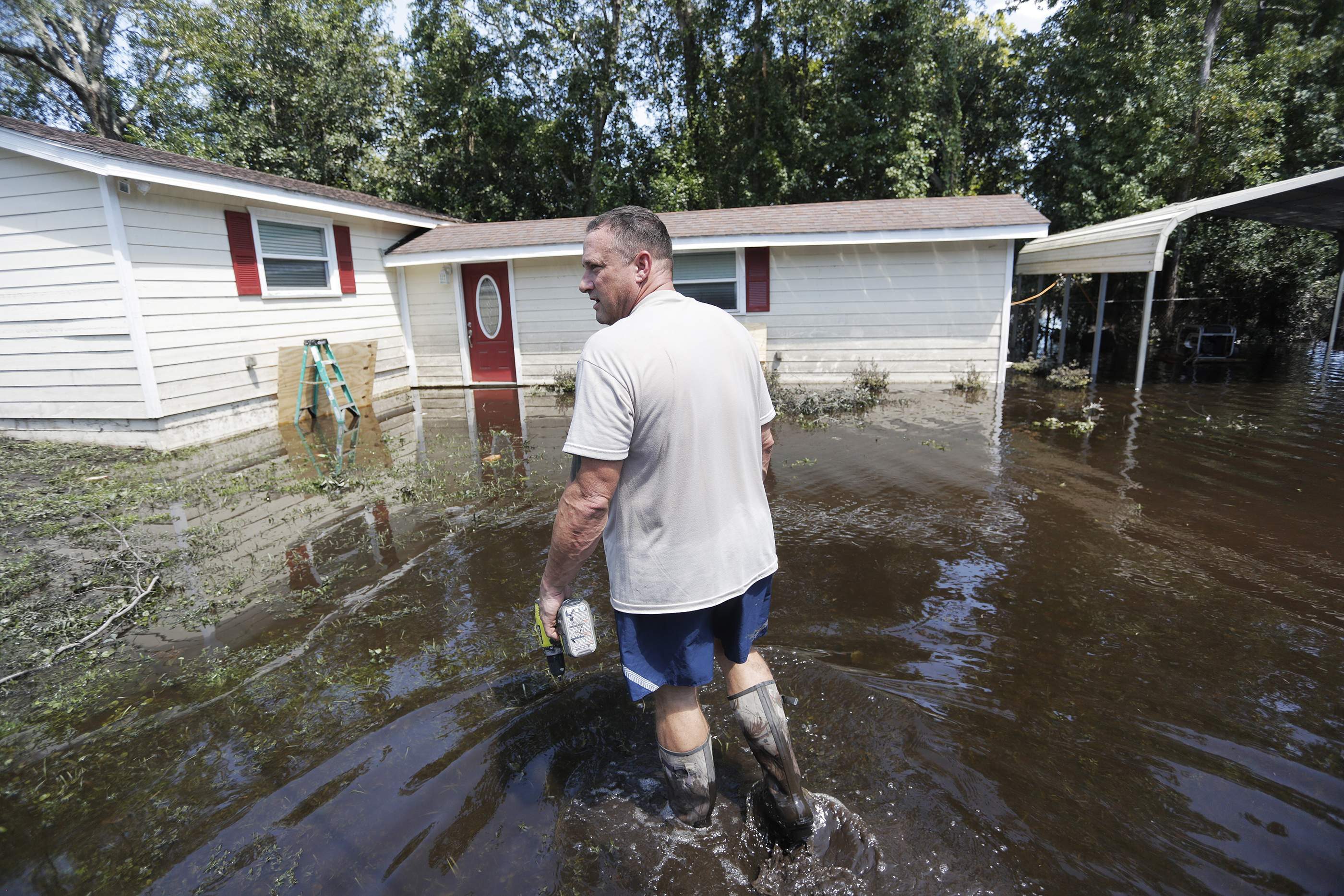 calm before the storm: flood insurance could get messy over