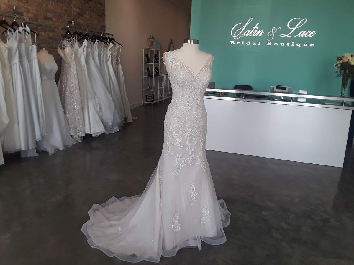 fashion style of 2019 quality first popular style Satin & Lace Bridal Boutique recently opened in Riverview