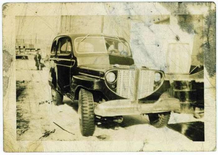 My First Car: '43 Army surplus jeep, Bennie Pandorf Sr , 93