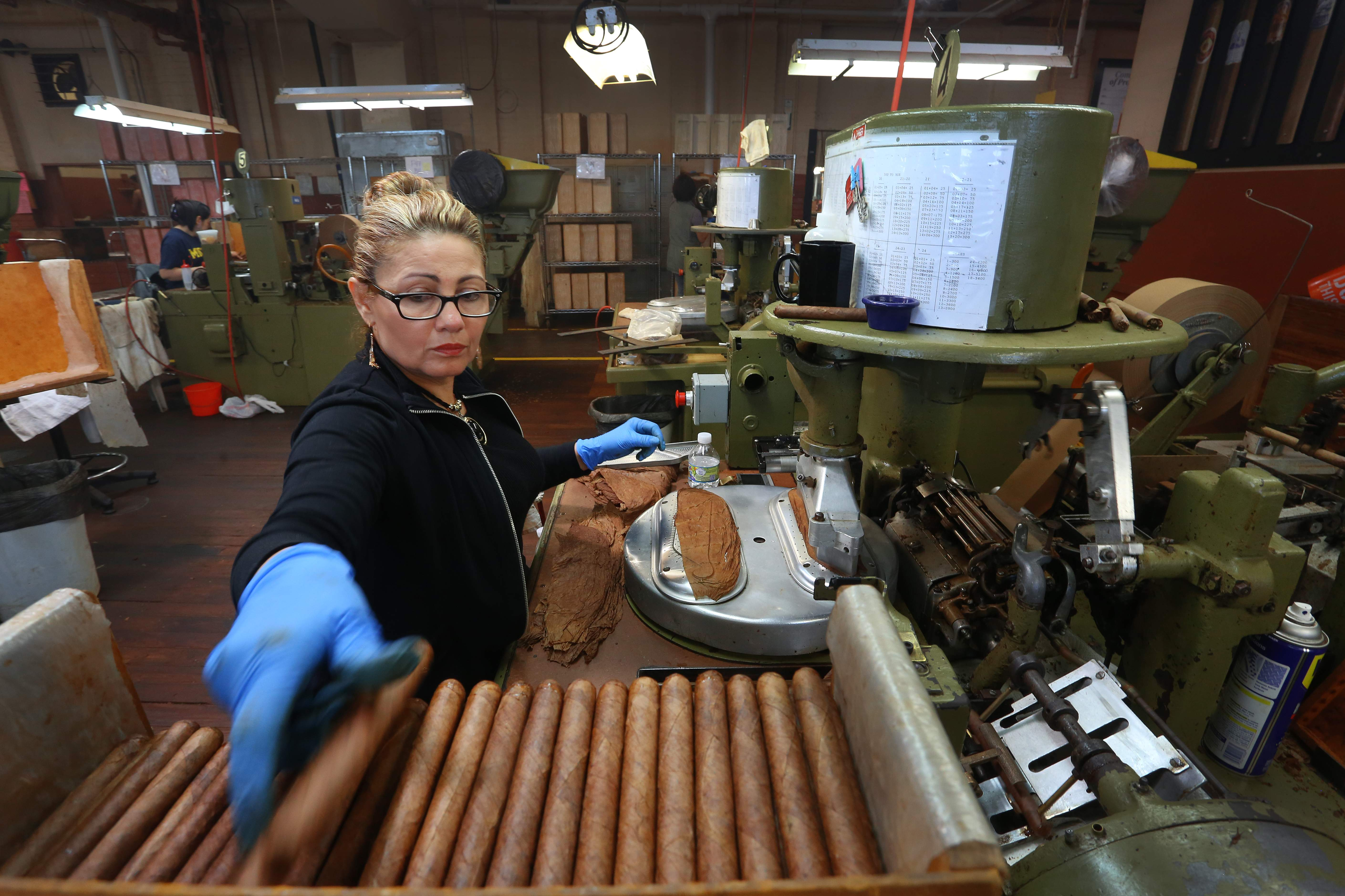 The last cigar factory in Tampa keeps rolling