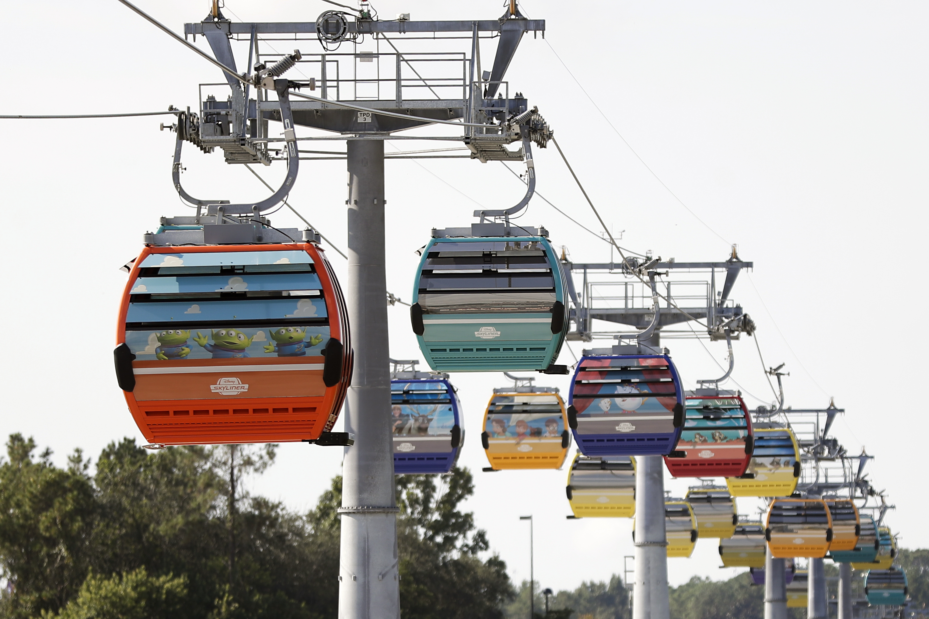 Disney S New Skyliner Closed After Riders Were Stranded For