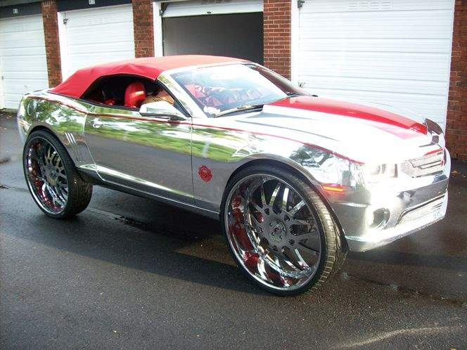 Tampa Tax Frauds Chrome Camaro Finds A Home In Motor City