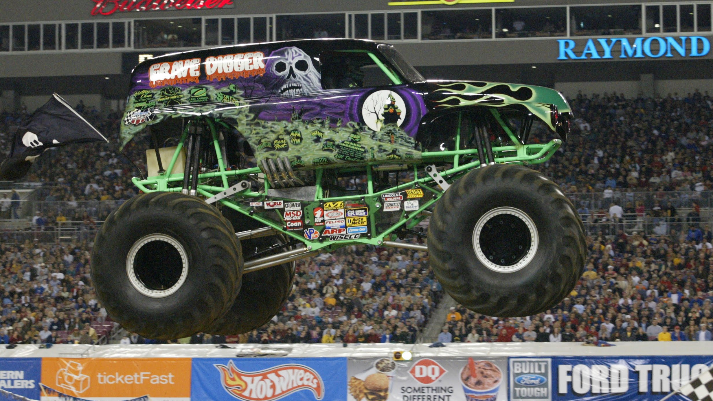 Original Grave Digger Passes The Monster Jam Torch To His Kids