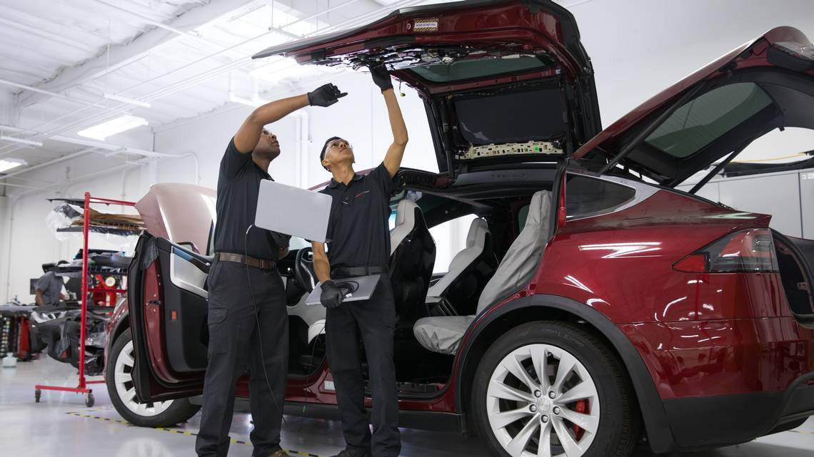 It's a desirable job that pays well — and Tesla is willing