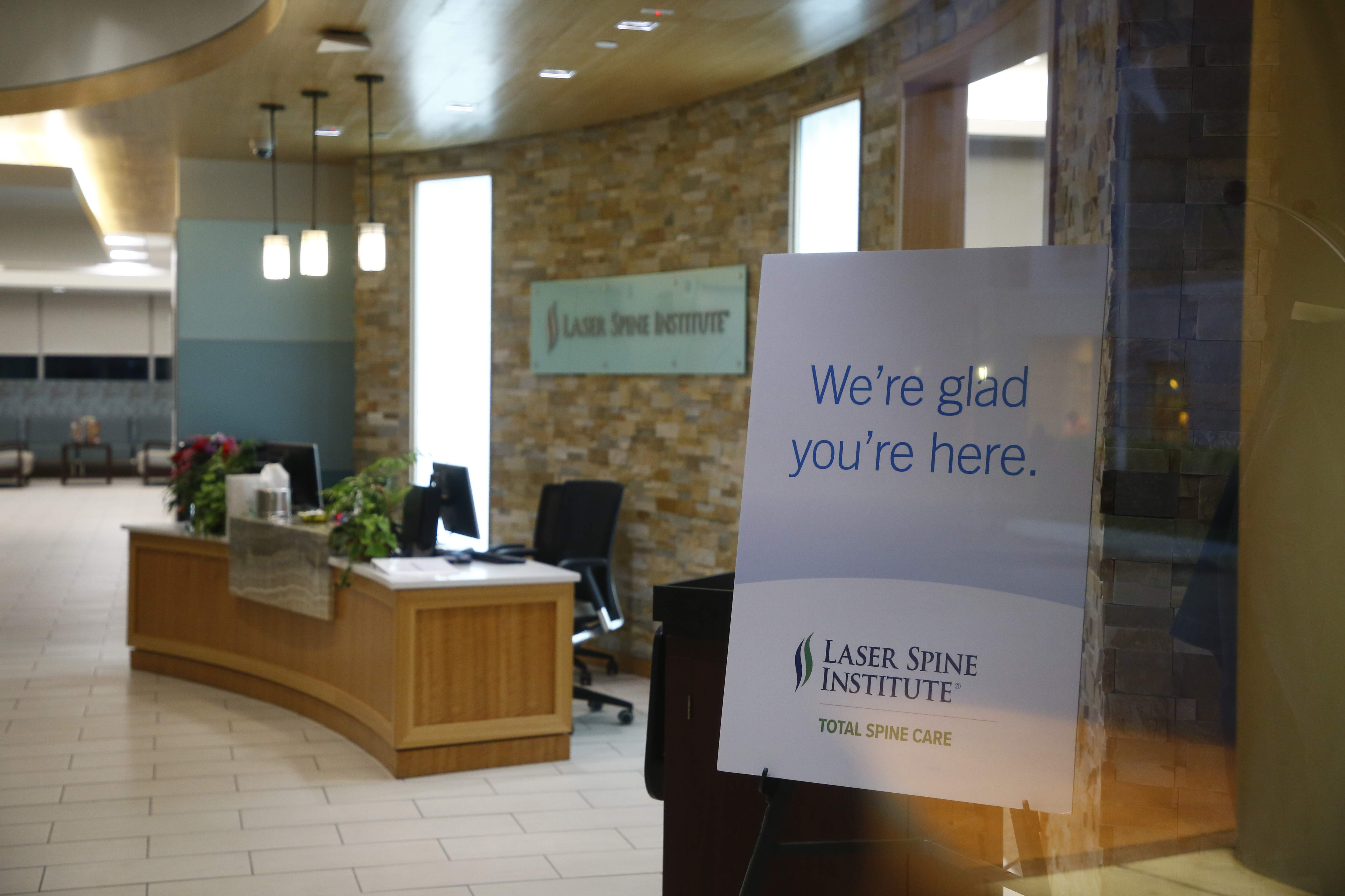 The fallout spreads after Laser Spine Institute's sudden closing