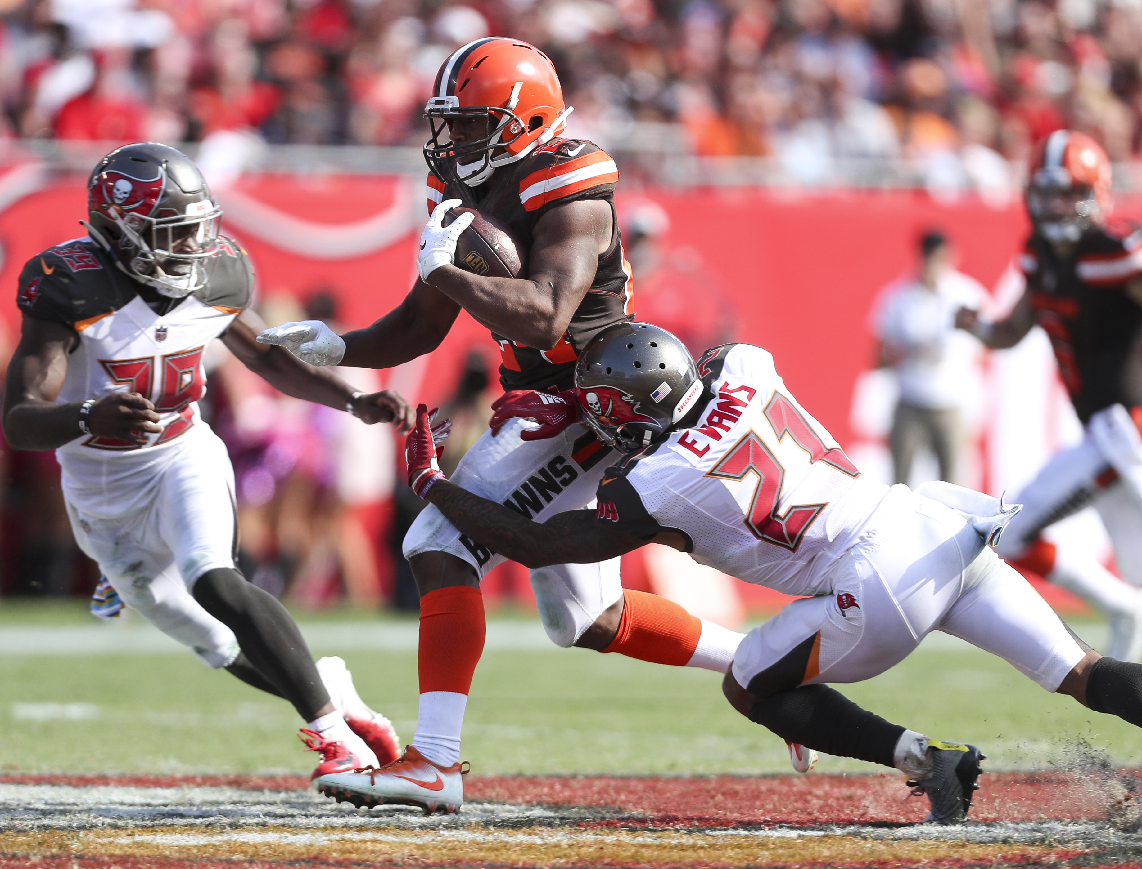 Mike Evans out for Friday's preseason game against Browns