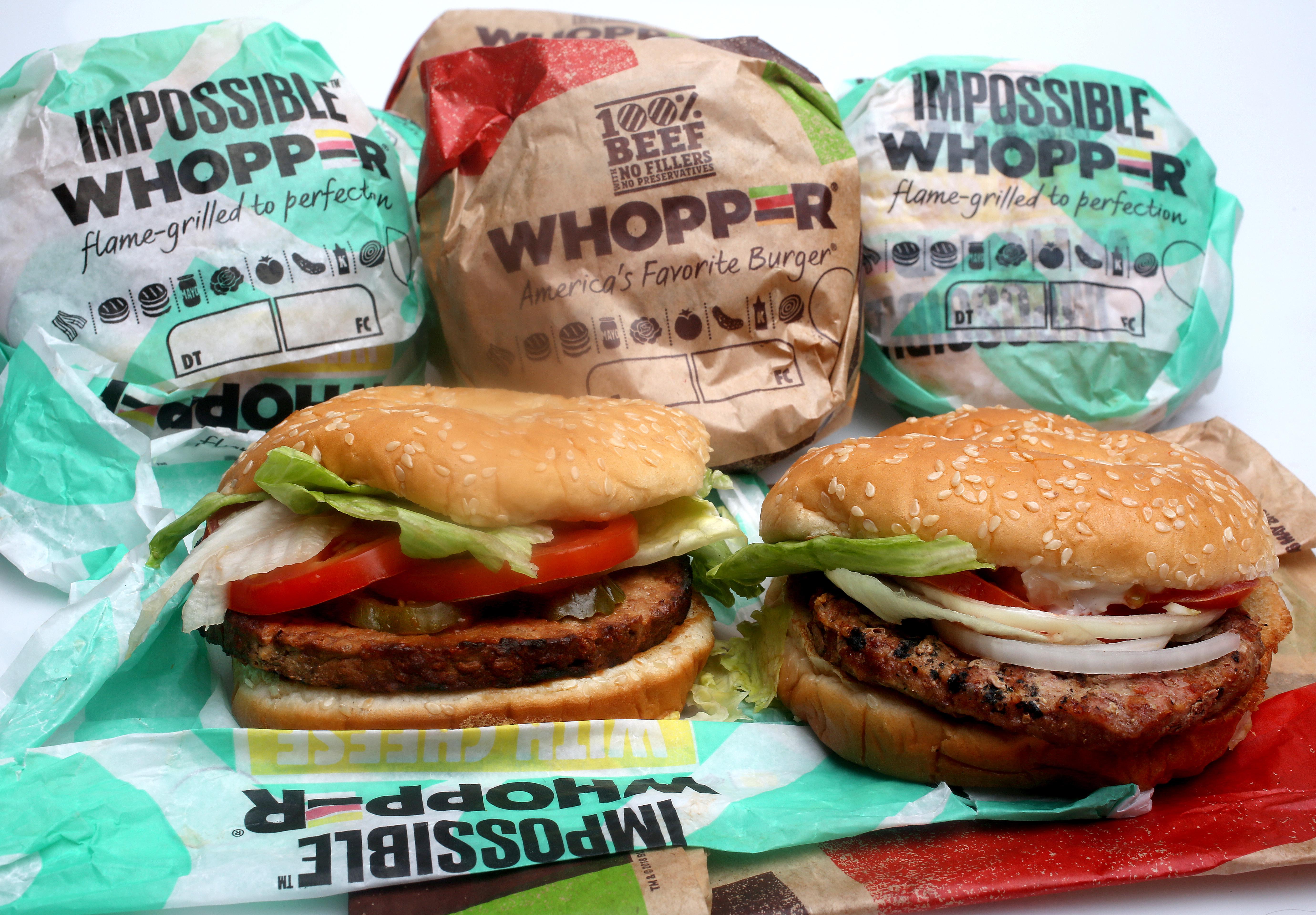 are burger king buns vegan