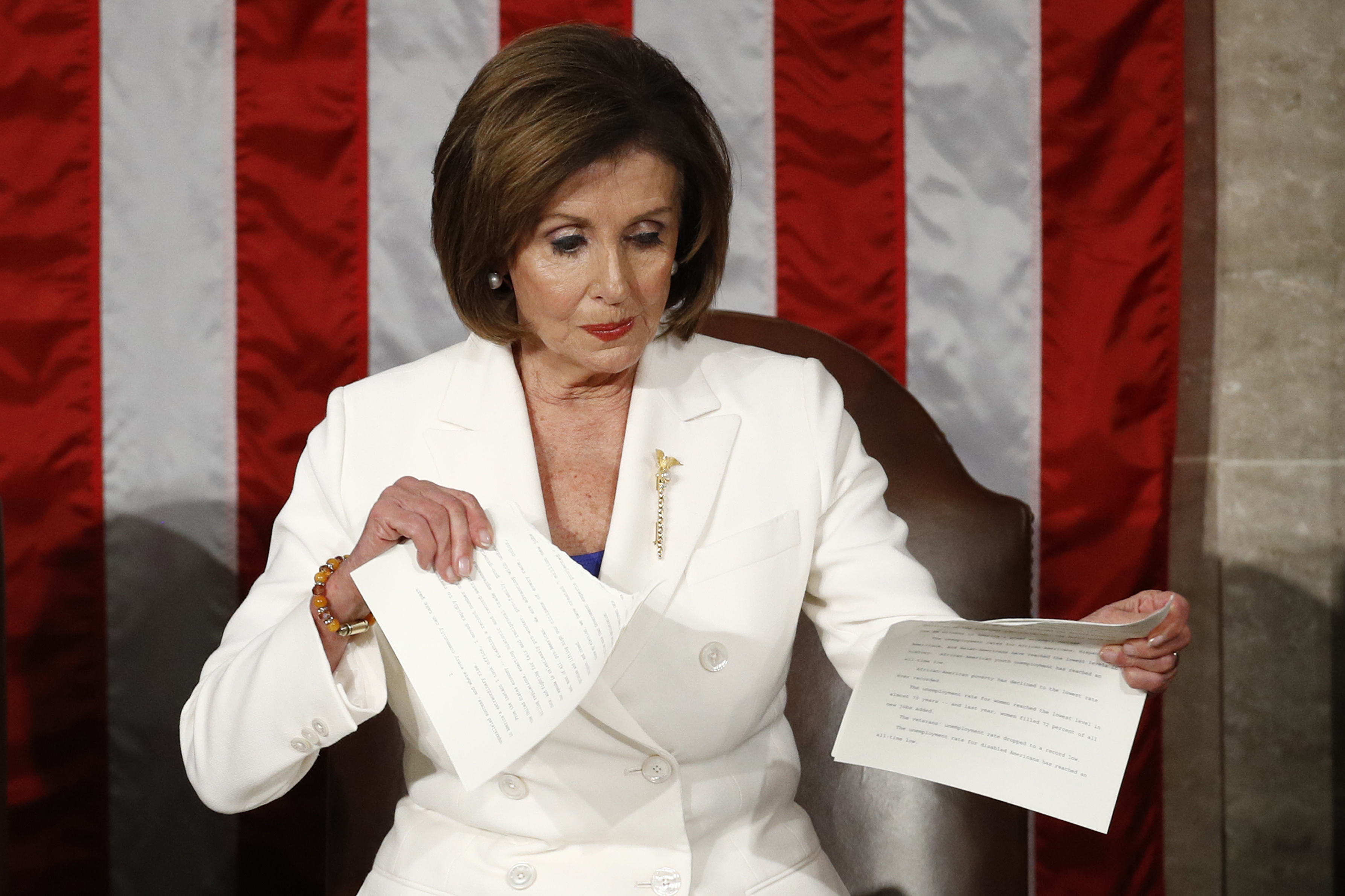 PolitiFact: Did Nancy Pelosi break the law by ripping Trump's State of the  Union speech?