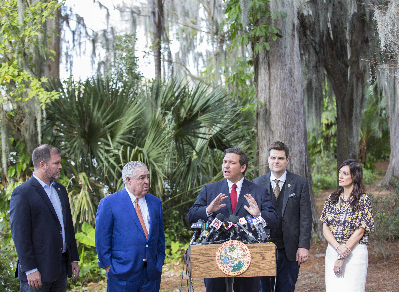 On medical marijuana, Florida Gov  Ron DeSantis wants to