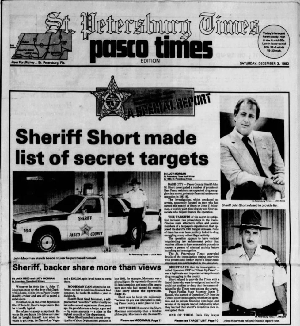 The long, odd history of Pasco County politicians behaving badly