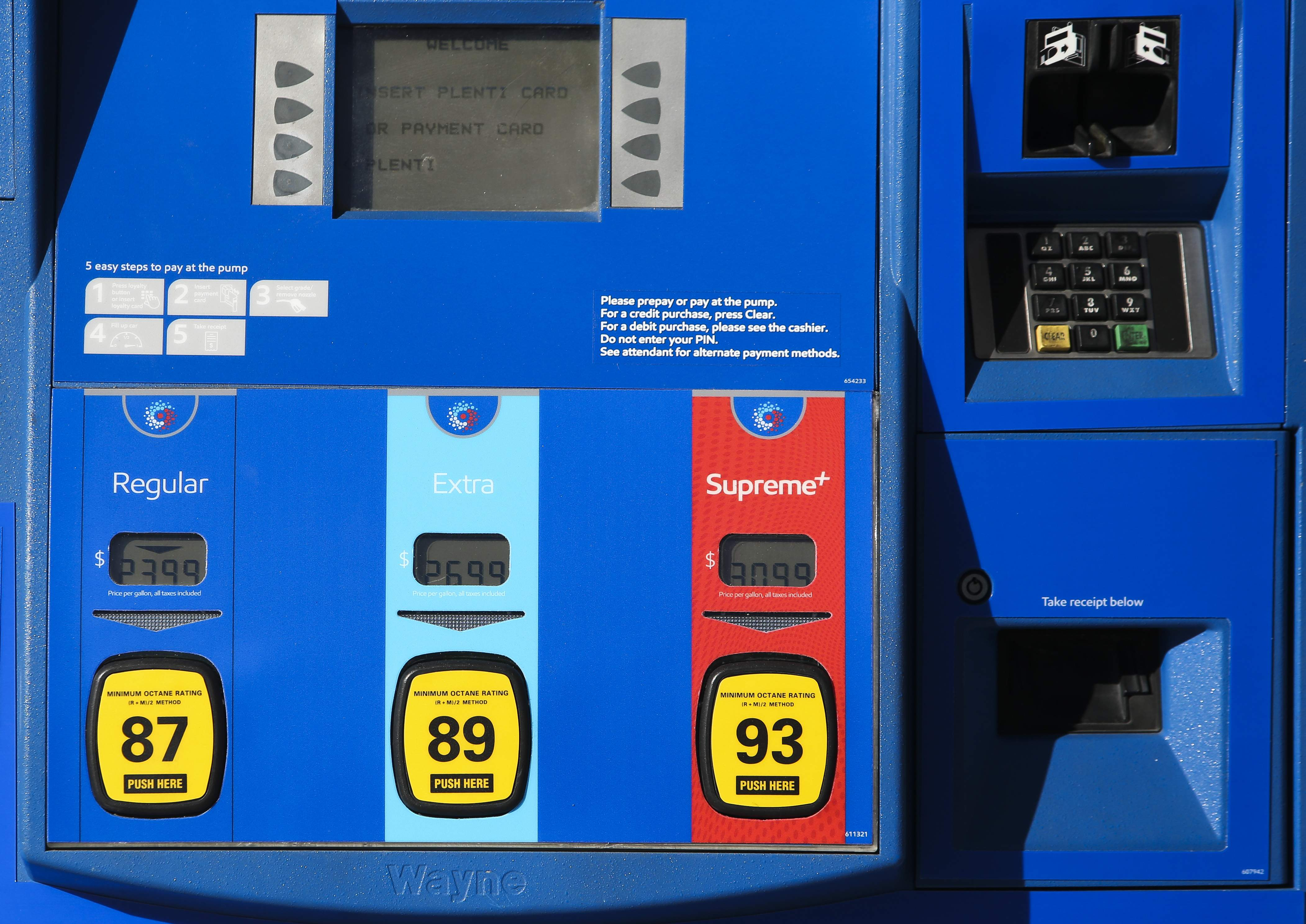 Gas Prices In Florida >> Florida Pump Prices Jump 10 Cents Highest In Four Years