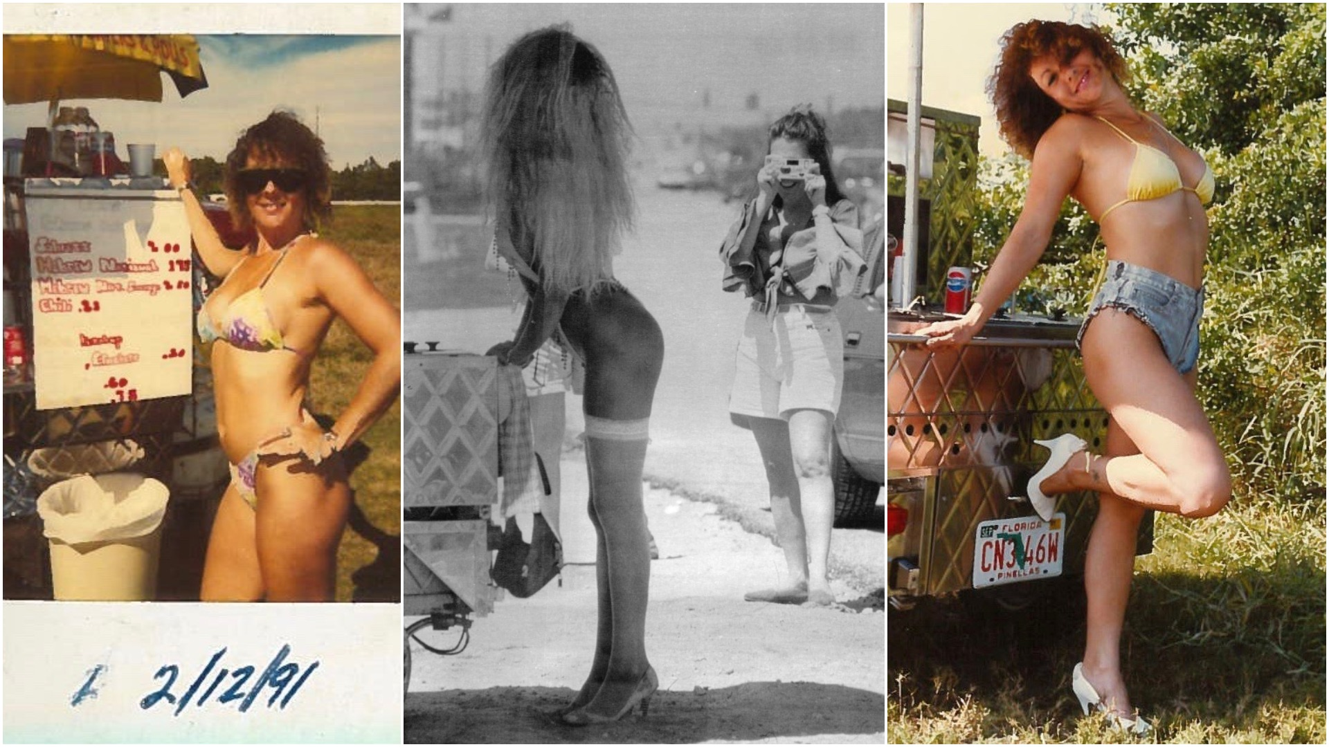 Gas Pump Girls Nude thong-clad hot dog girls once ruled florida streets. where