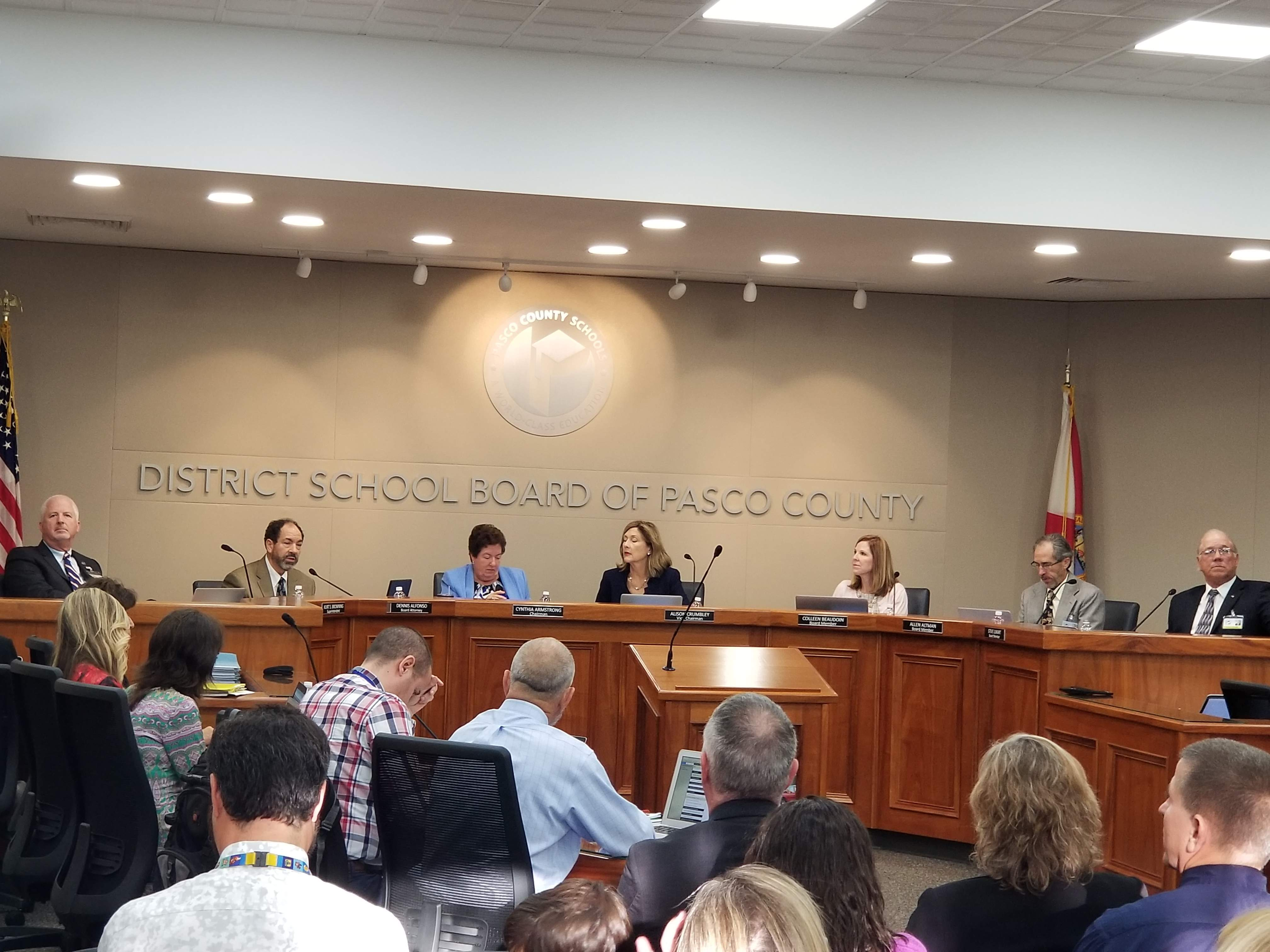Religious rights group protests Pasco's treatment of