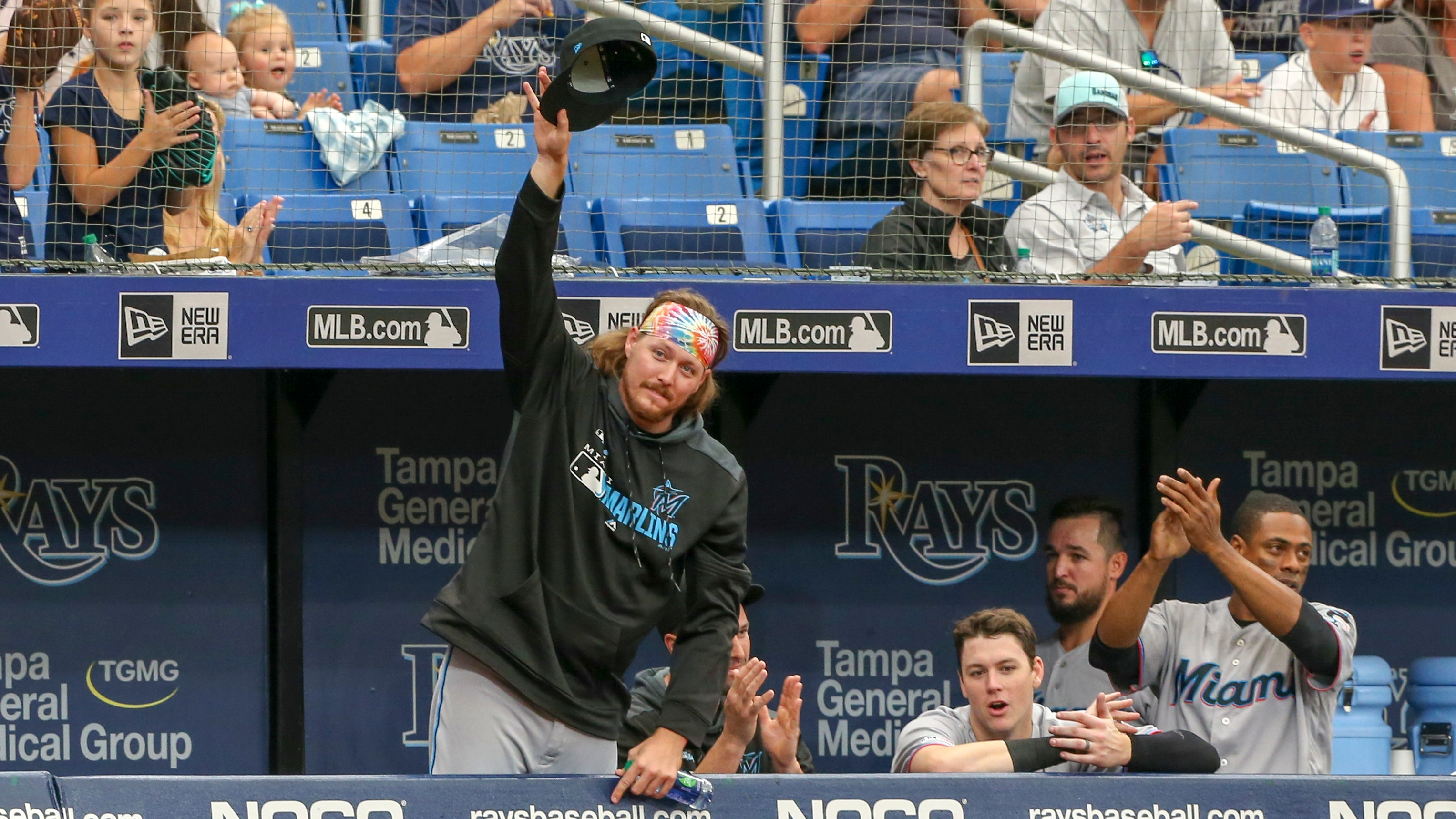 Days After Trade Rays Welcome Ryne Stanek To Visiting Clubhouse