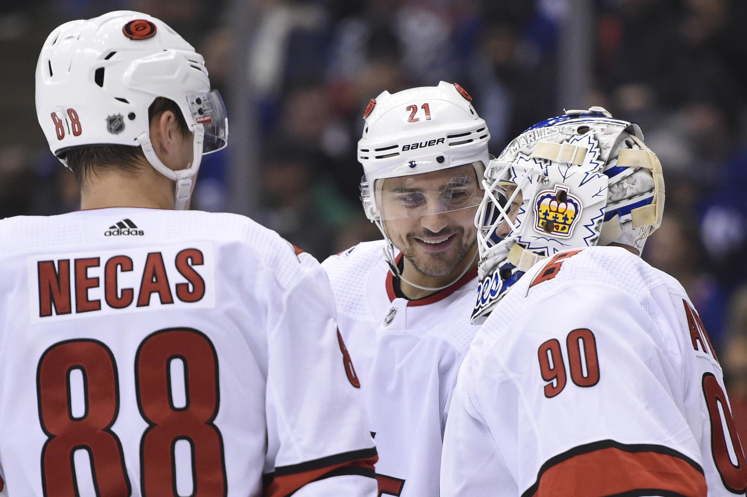 Carolina Hurricanes Emergency Backup Goalie Beats Toronto Maple Leafs