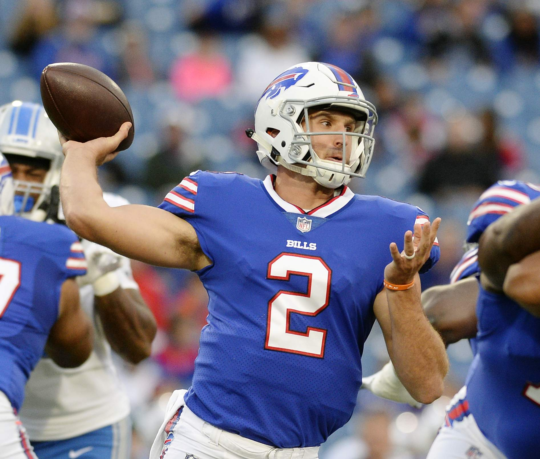 Excellent Bills Bench Qb Tyrod Taylor In Favor Of Nathan Peterman Creativecarmelina Interior Chair Design Creativecarmelinacom