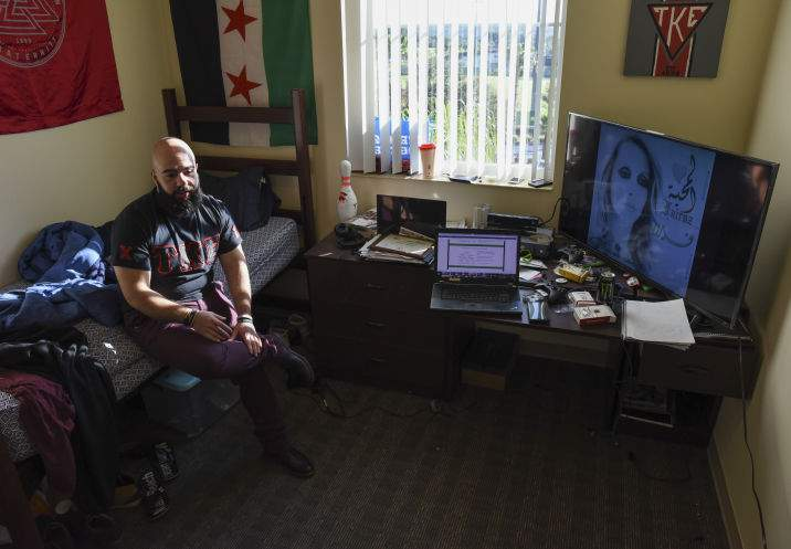 For a Syrian student at Saint Leo University, home is