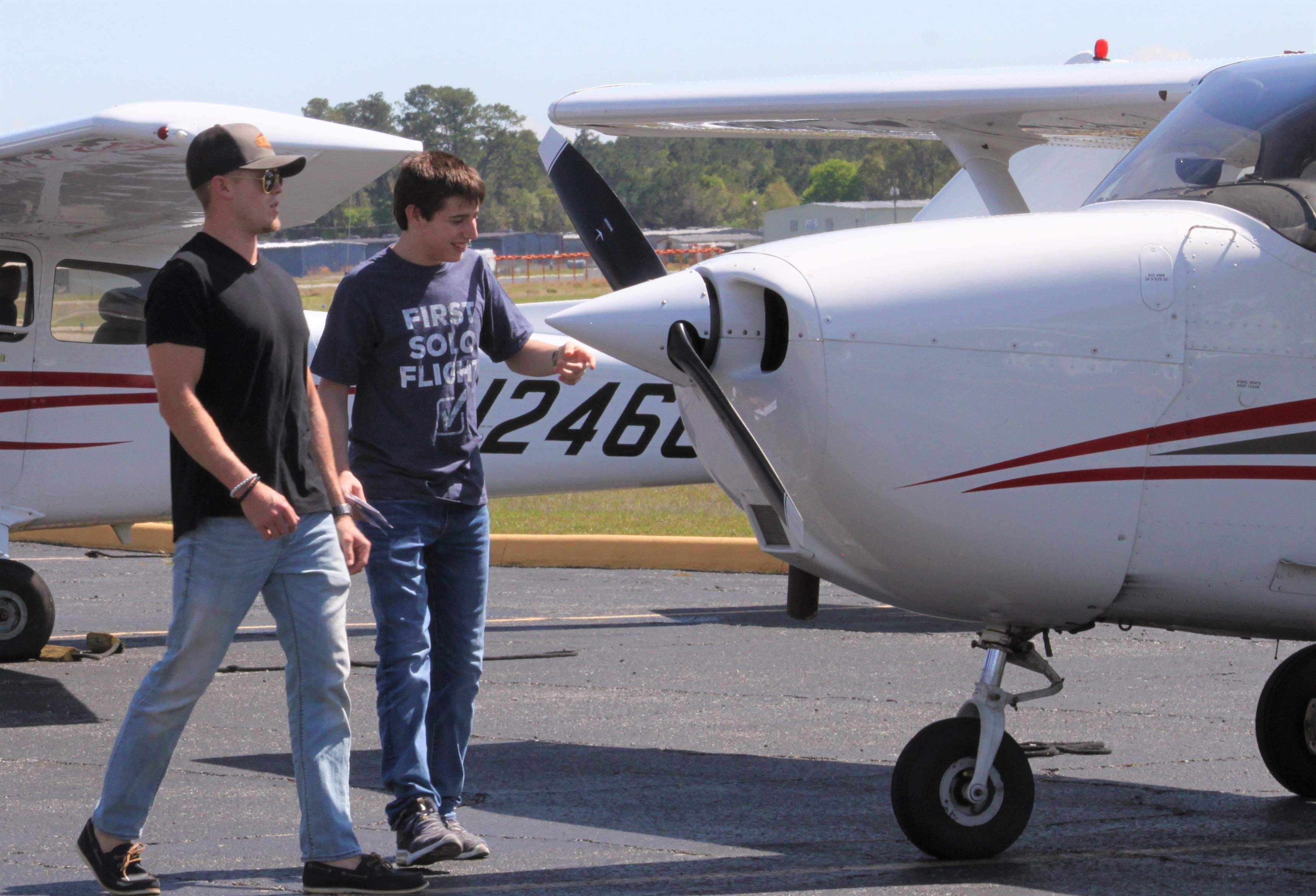 16-year-old pilots his first solo flight from Brooksville