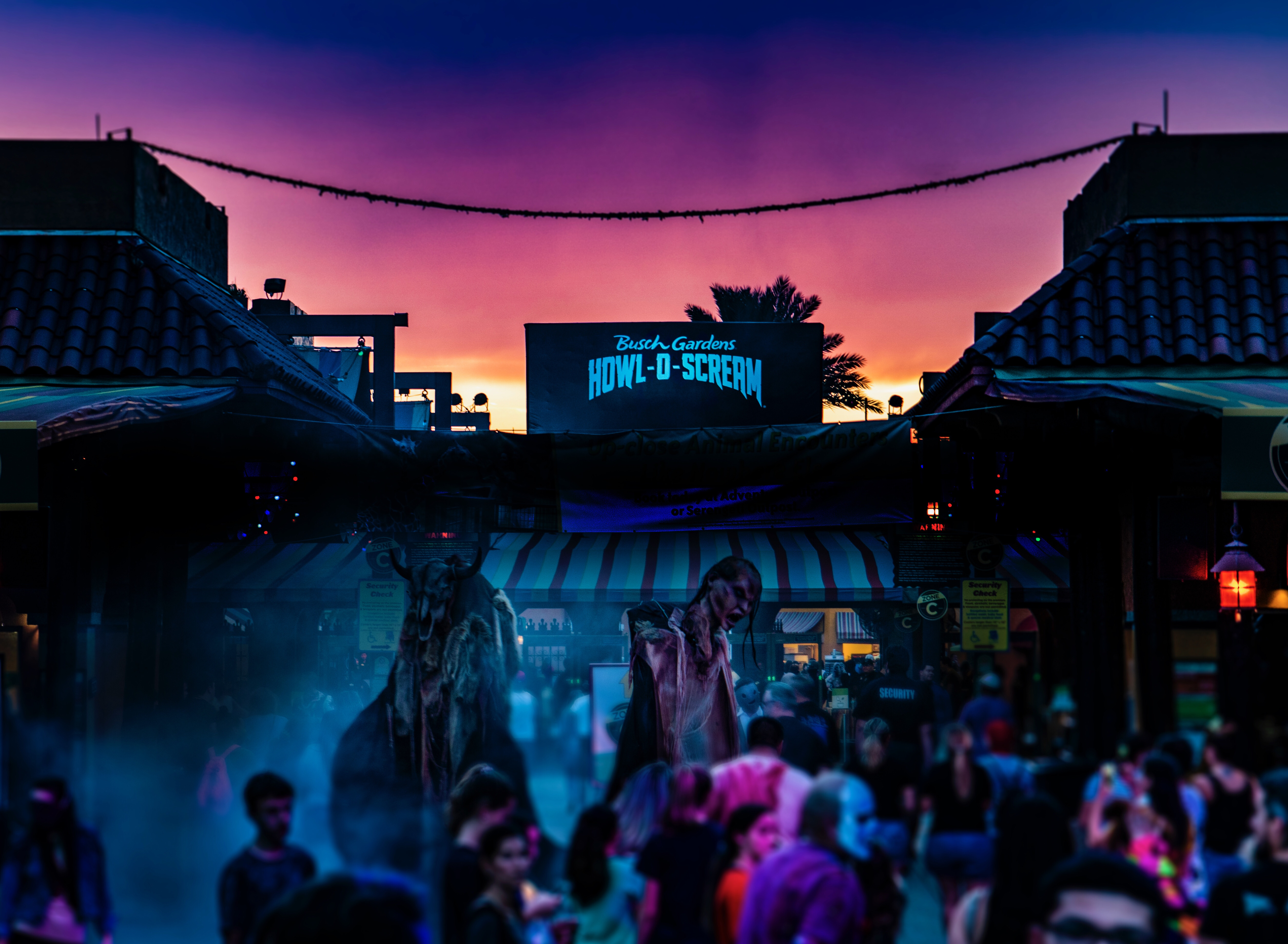 Howl O Scream Is Back At Busch Gardens And We Went To All The Houses