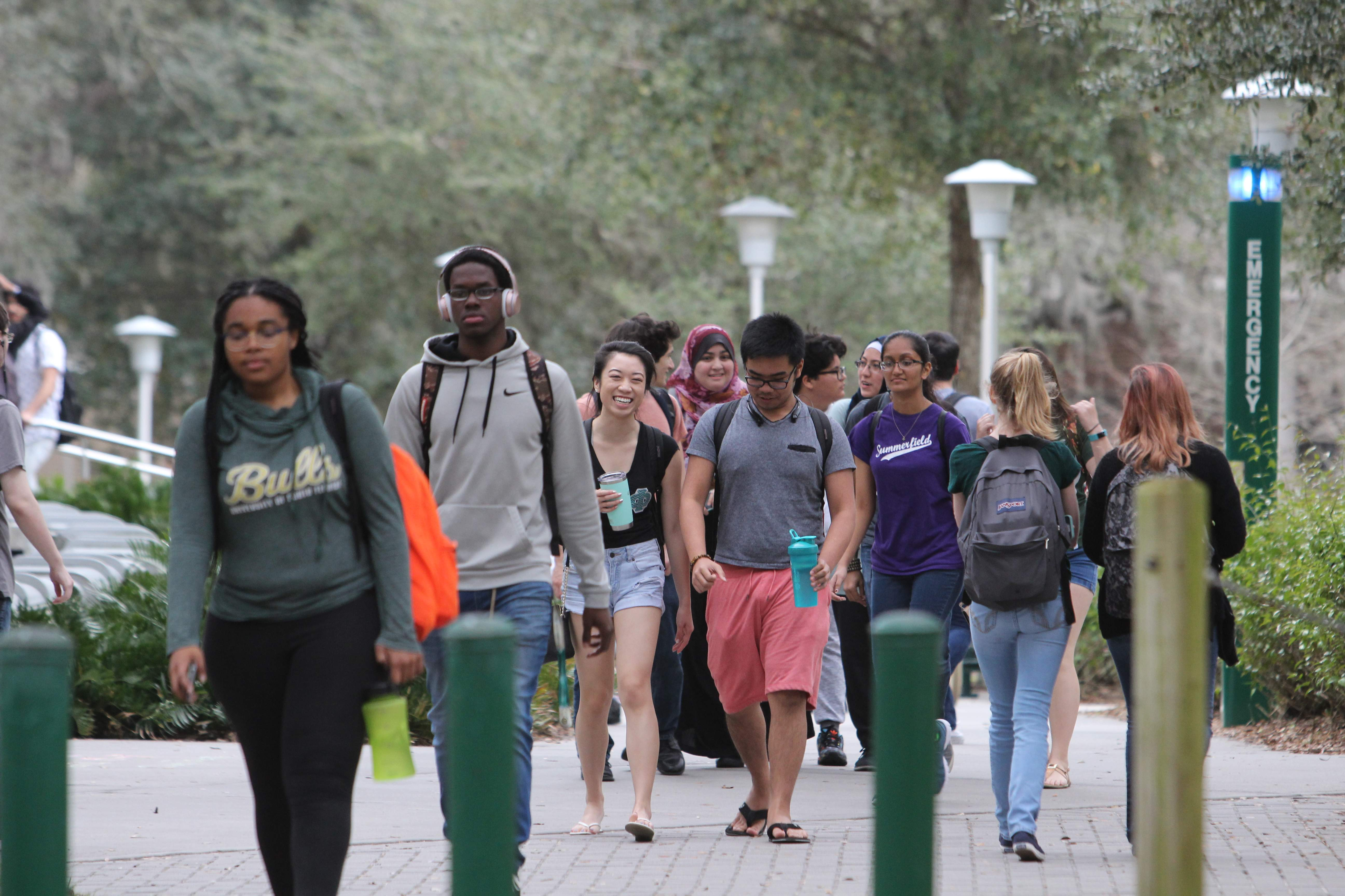 As USF raises its standards, can a B student still get in?
