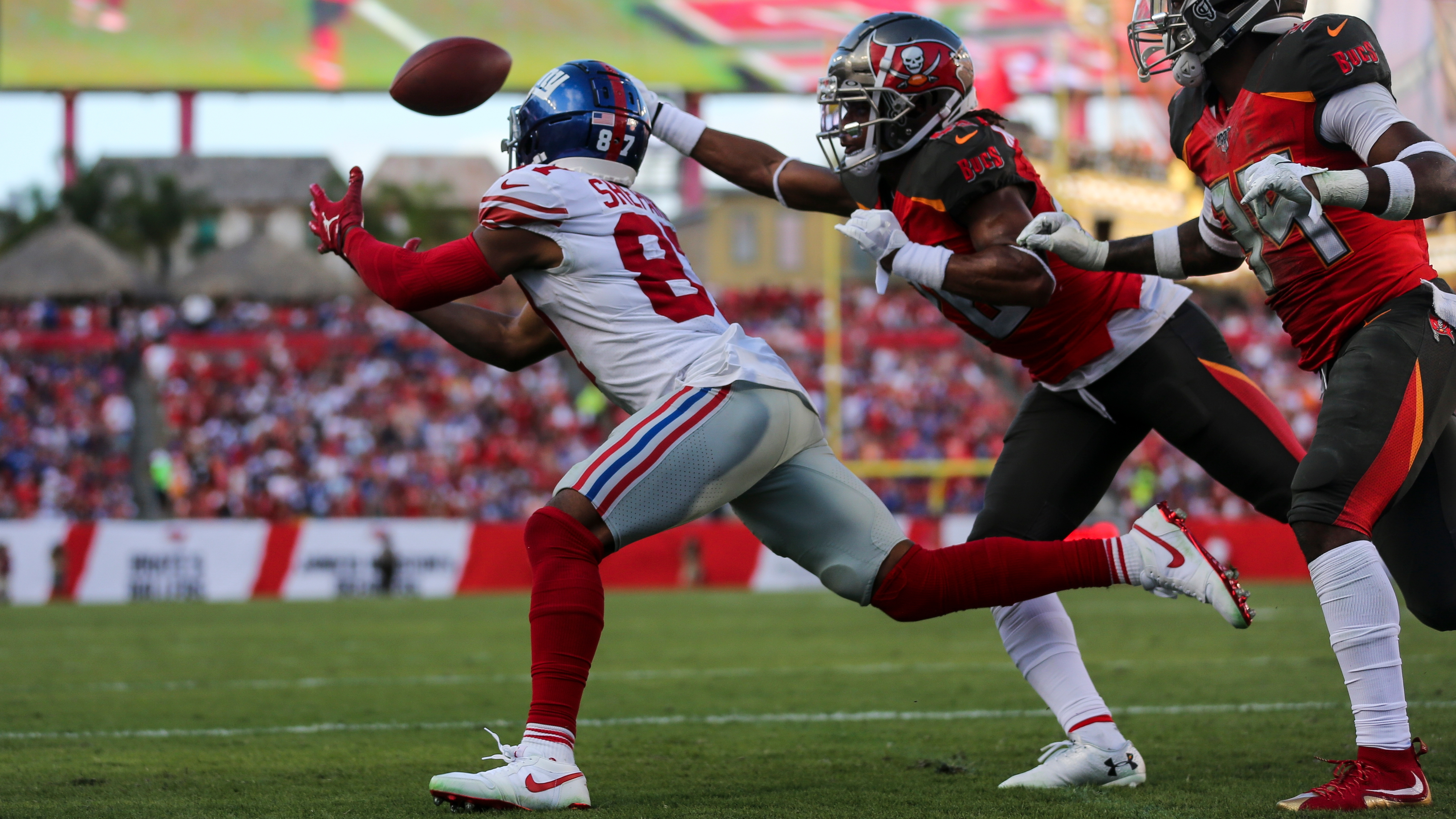 cheaper 78949 eb80d Tampa Bay Buccaneers' secondary regressed against the Giants