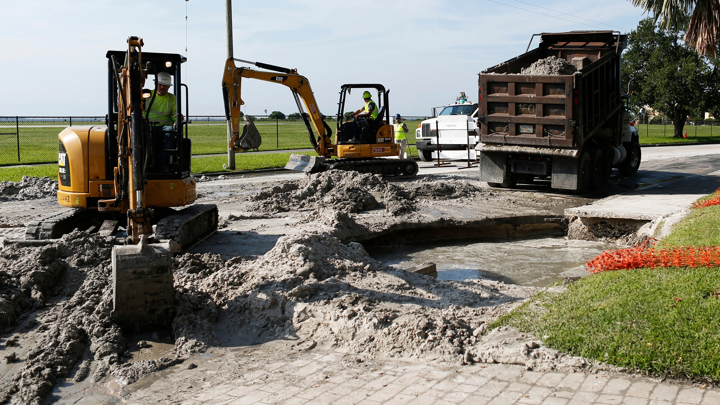 Tampa has a lot of old water pipes to fix and residents will