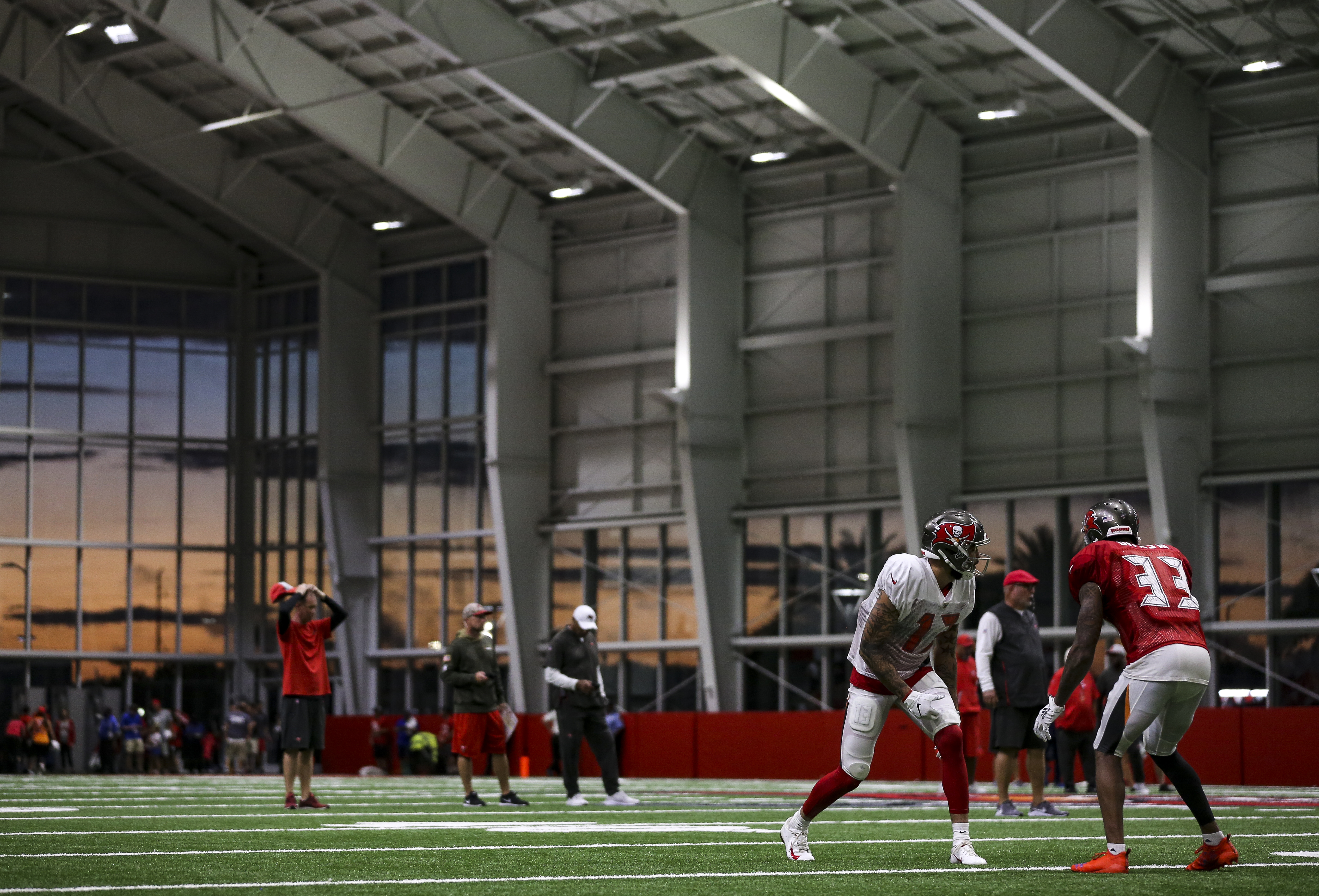 Bucs Bringing The Heat Indoors To Simulate Florida Weather