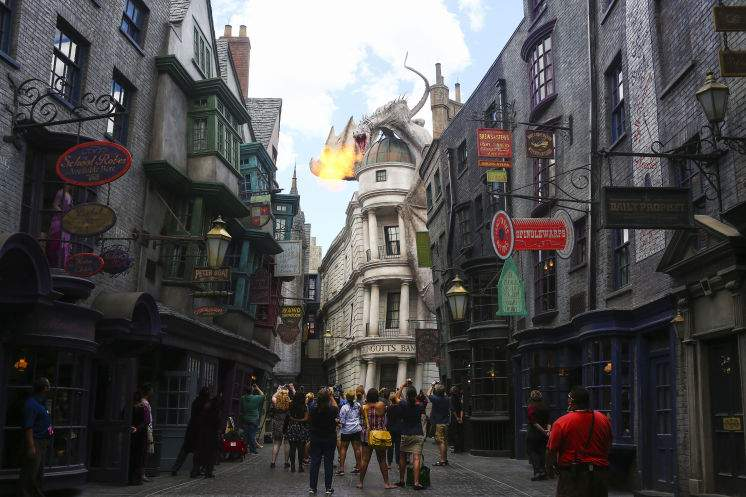 Image result for diagon Alley