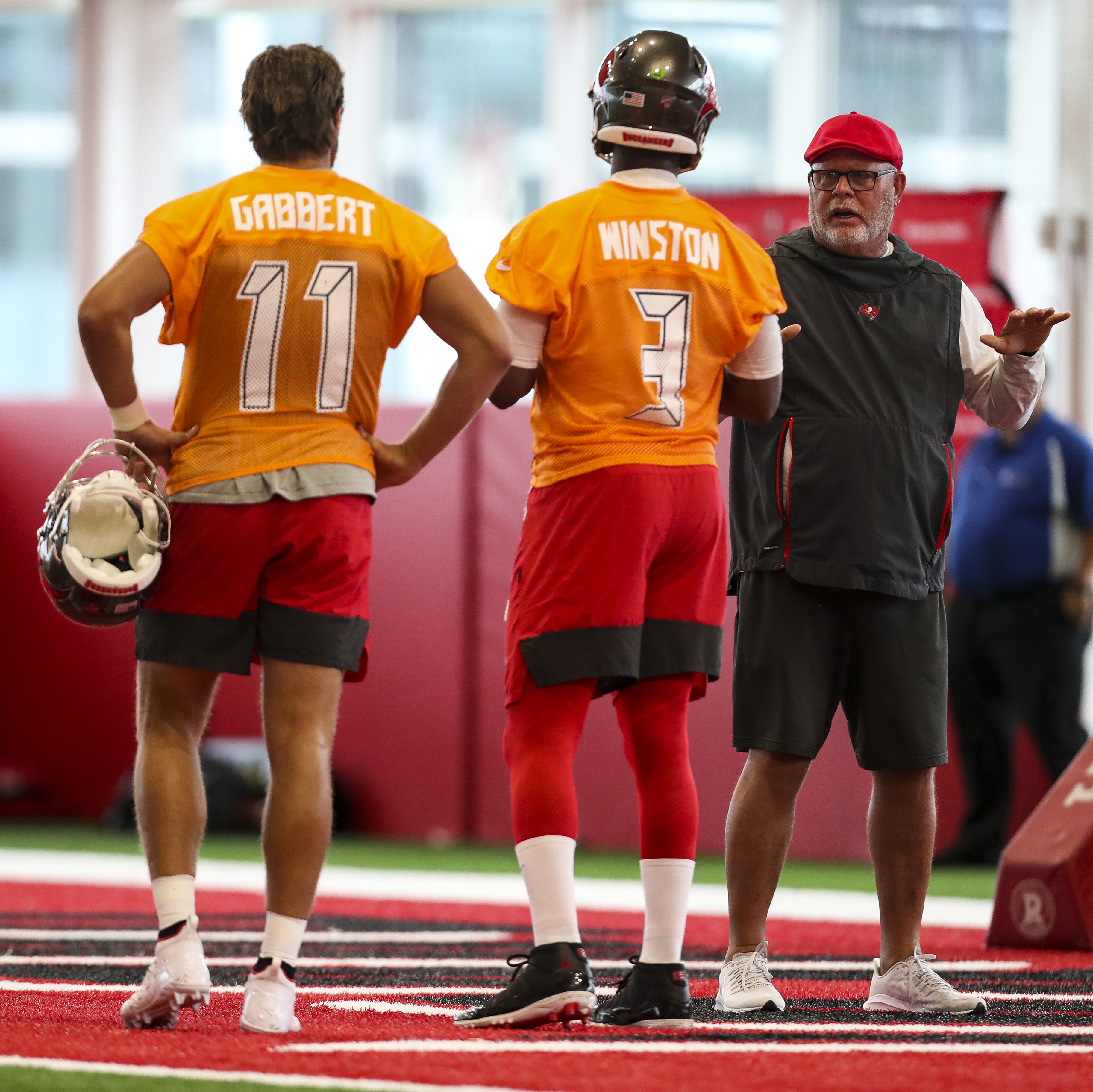 sports shoes ef200 21397 Bruce Arians isn't looking for 'soccer players'