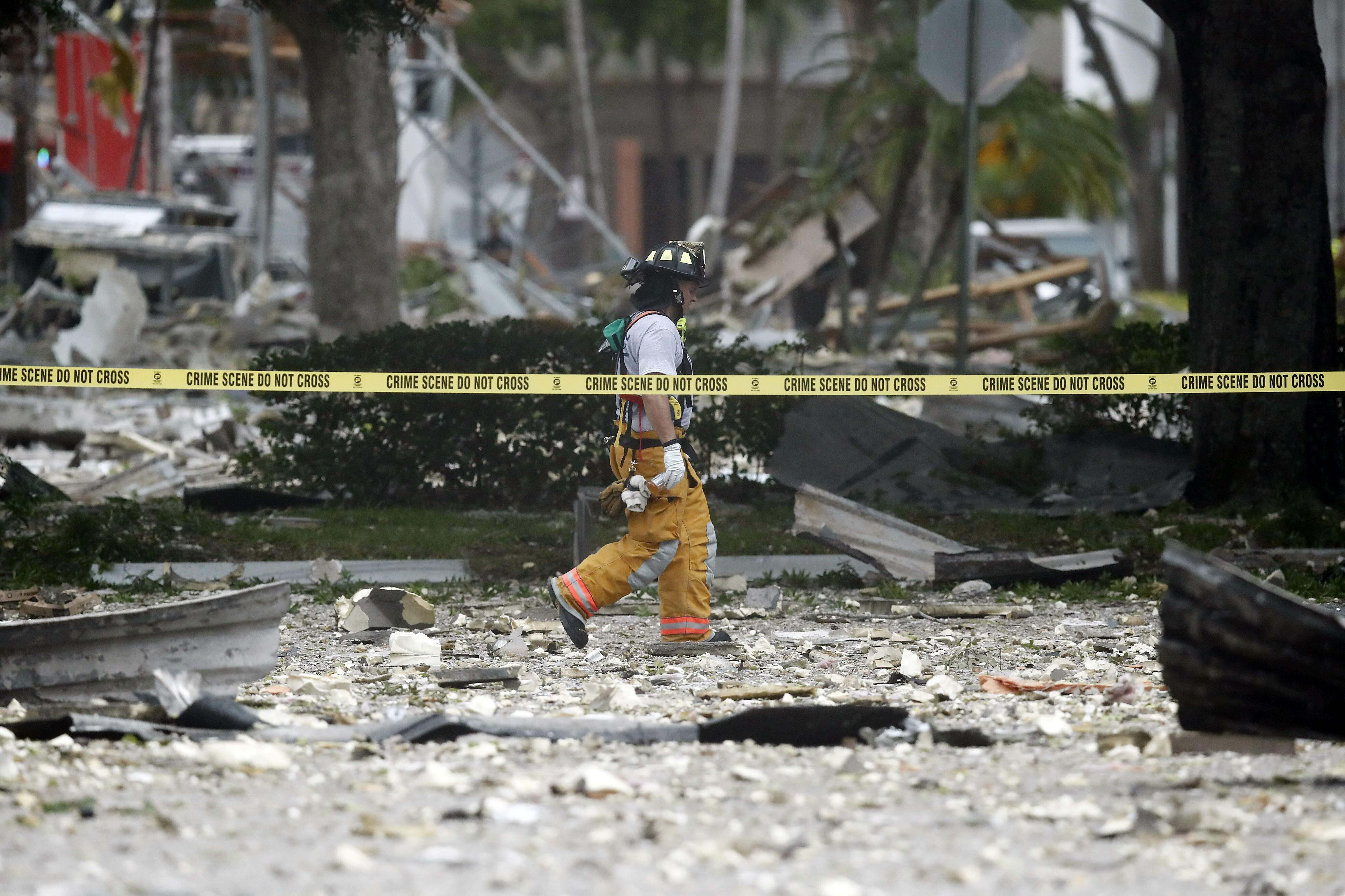 Gas Leak Suspected In Explosion That Rocked South Florida