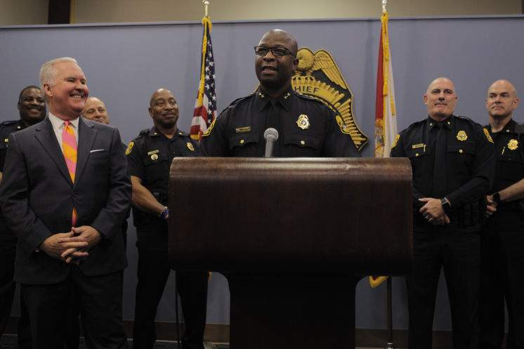 Tampa Police Chief Eric Ward leaving for private sector job