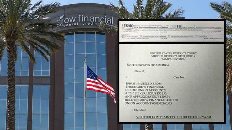 A Tampa man reported an income of $18,497  The IRS sent him