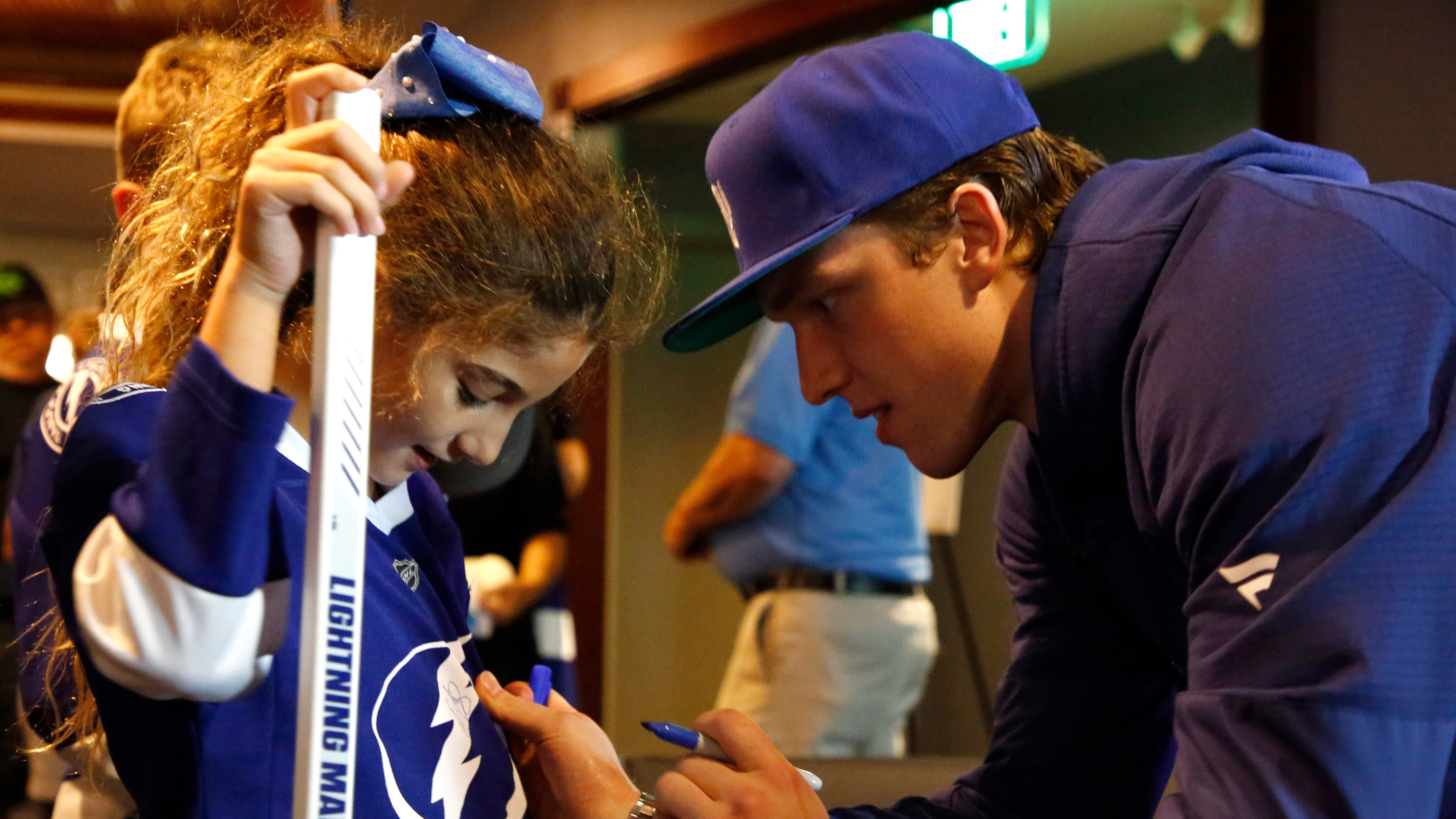 Lightning to open camp without Brayden Point