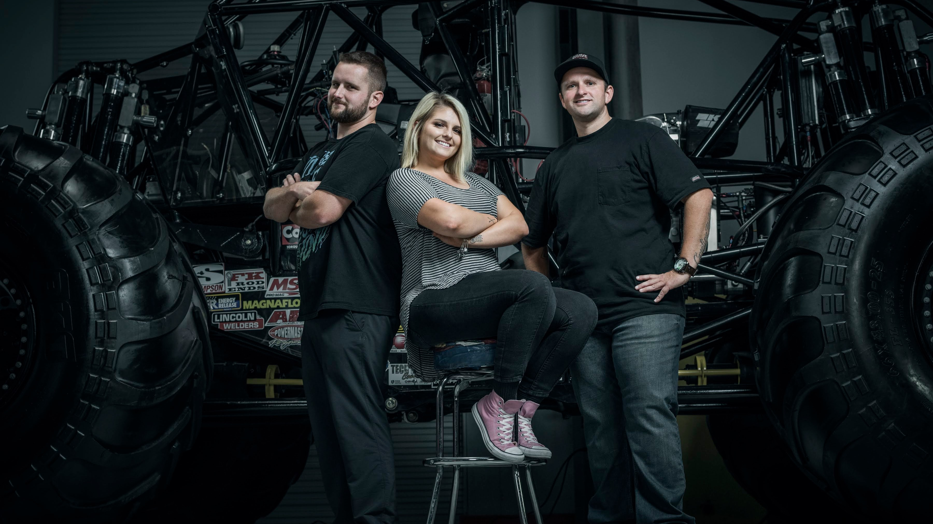 Grave Digger's daughter pushes to extend the family legacy