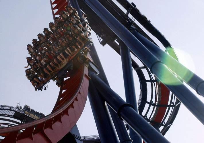 Four Days After Sudden Stall Busch Gardens Sheikra Roller Coaster Reopens