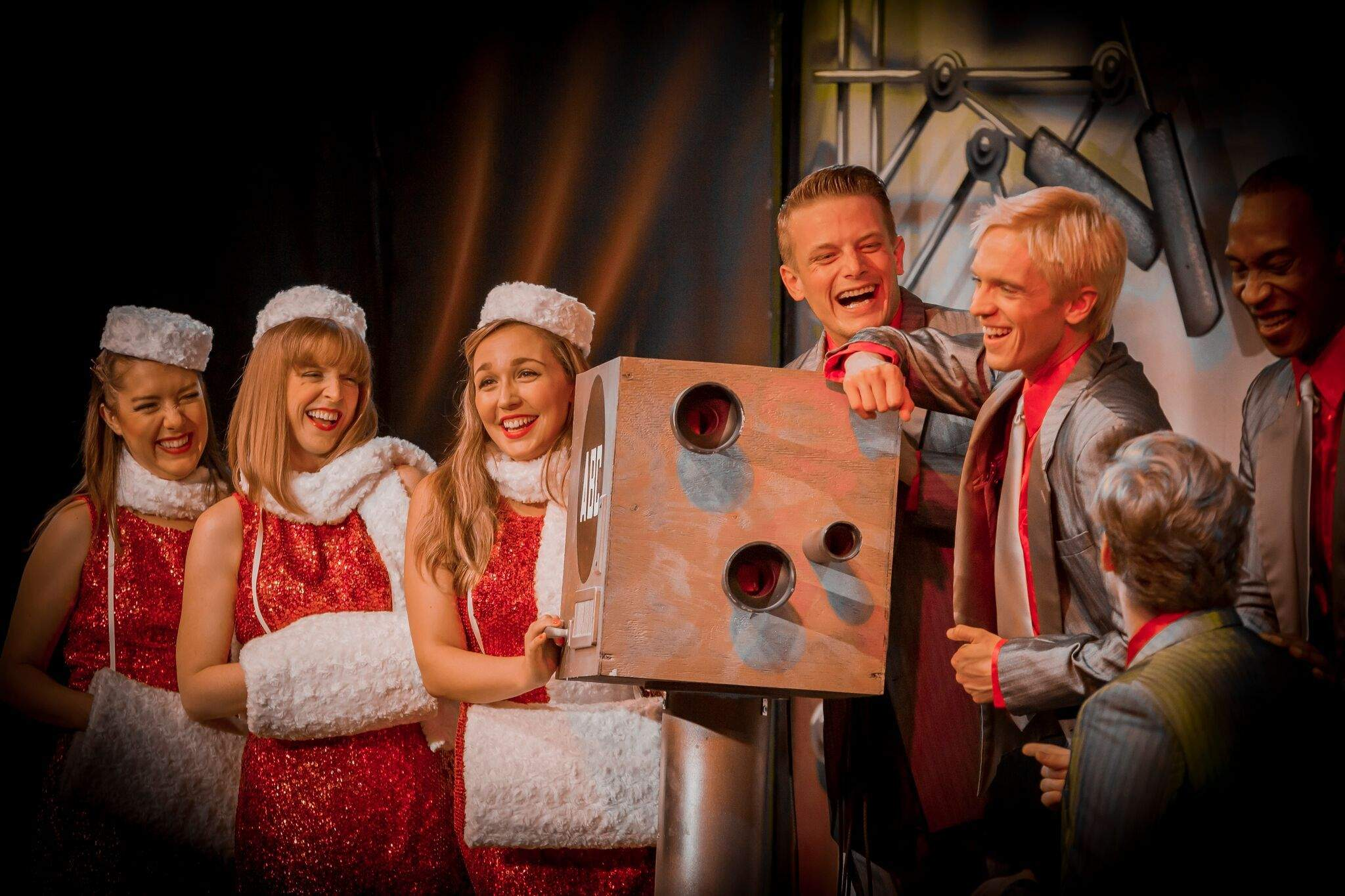 A Veterans Christmas Cast.The Cast And Songs Shine In A Doo Wop Christmas