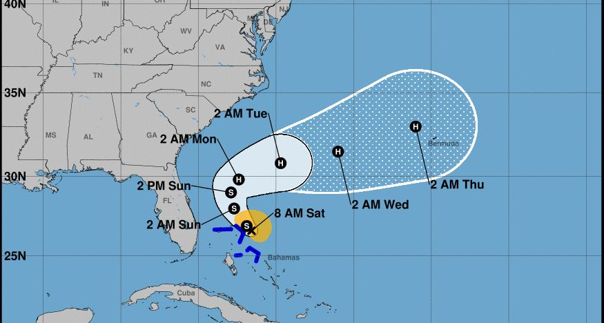 Tropical disturbance could bring extra rain to Florida, become tropical cyclone by weekend